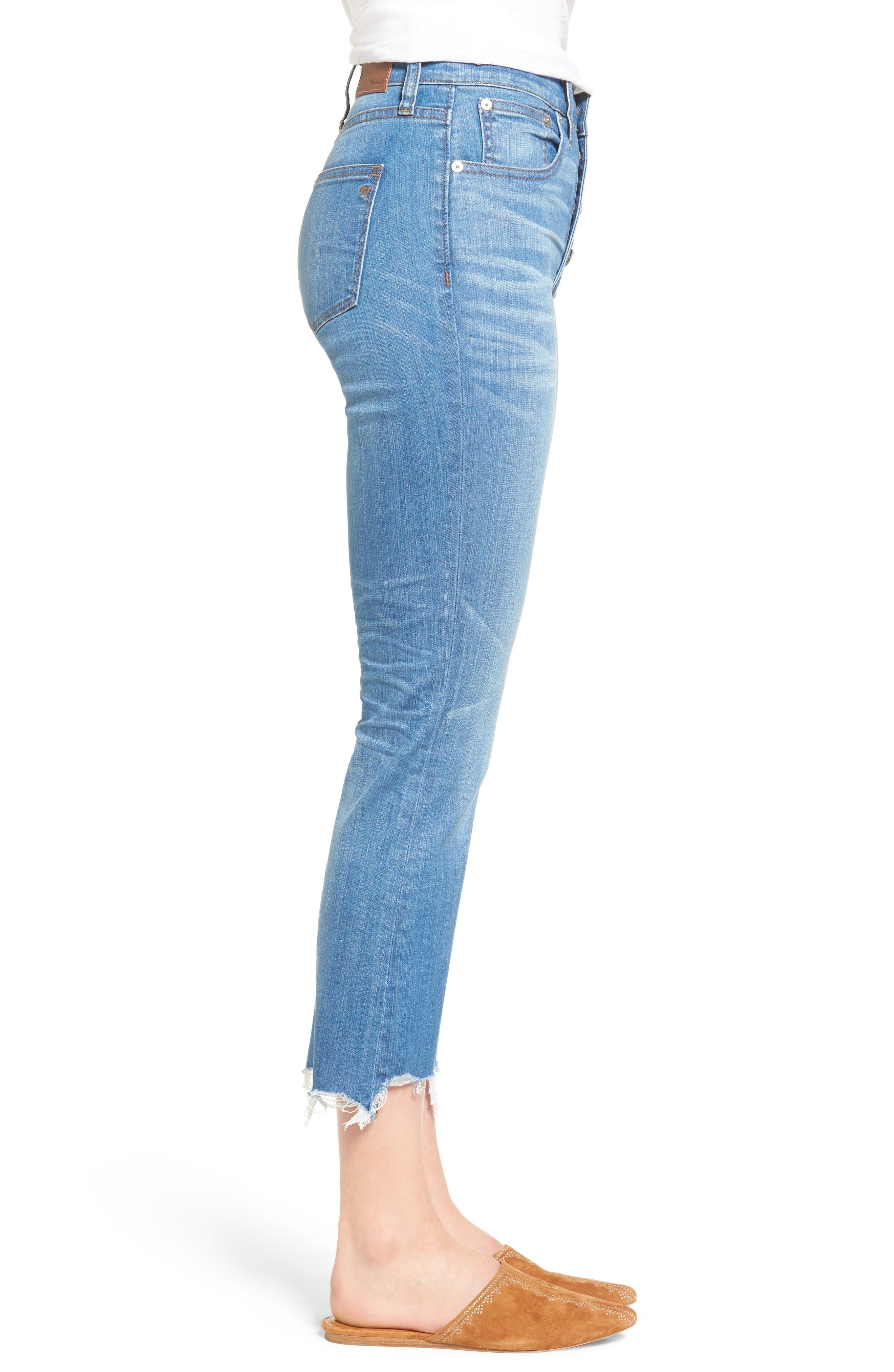 Alternate Image 4  - Madewell Cali Demi Boot Jeans (Fenton Wash)