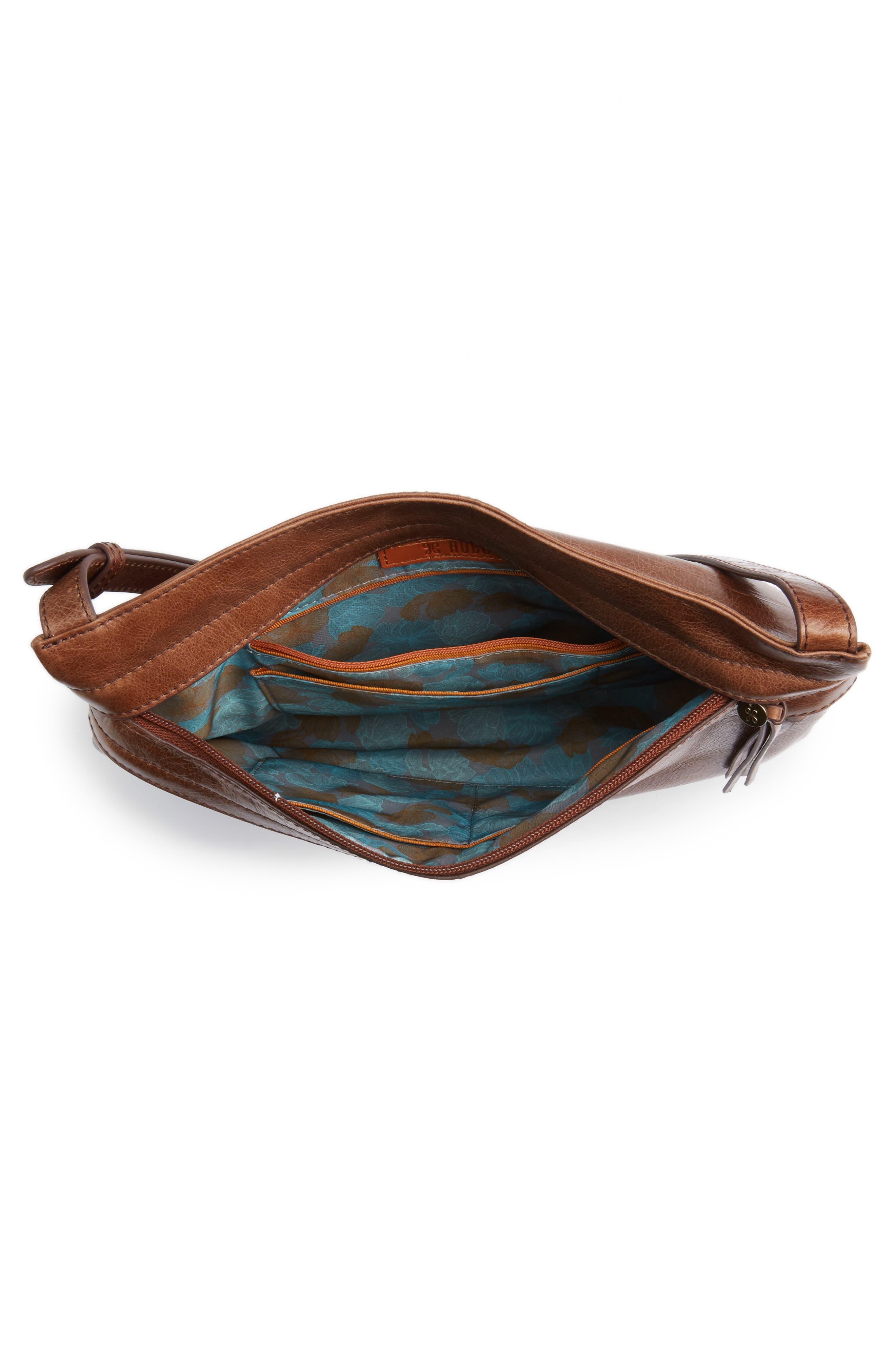 Alternate Image 3  - Hobo Larkin Leather Messenger Bag