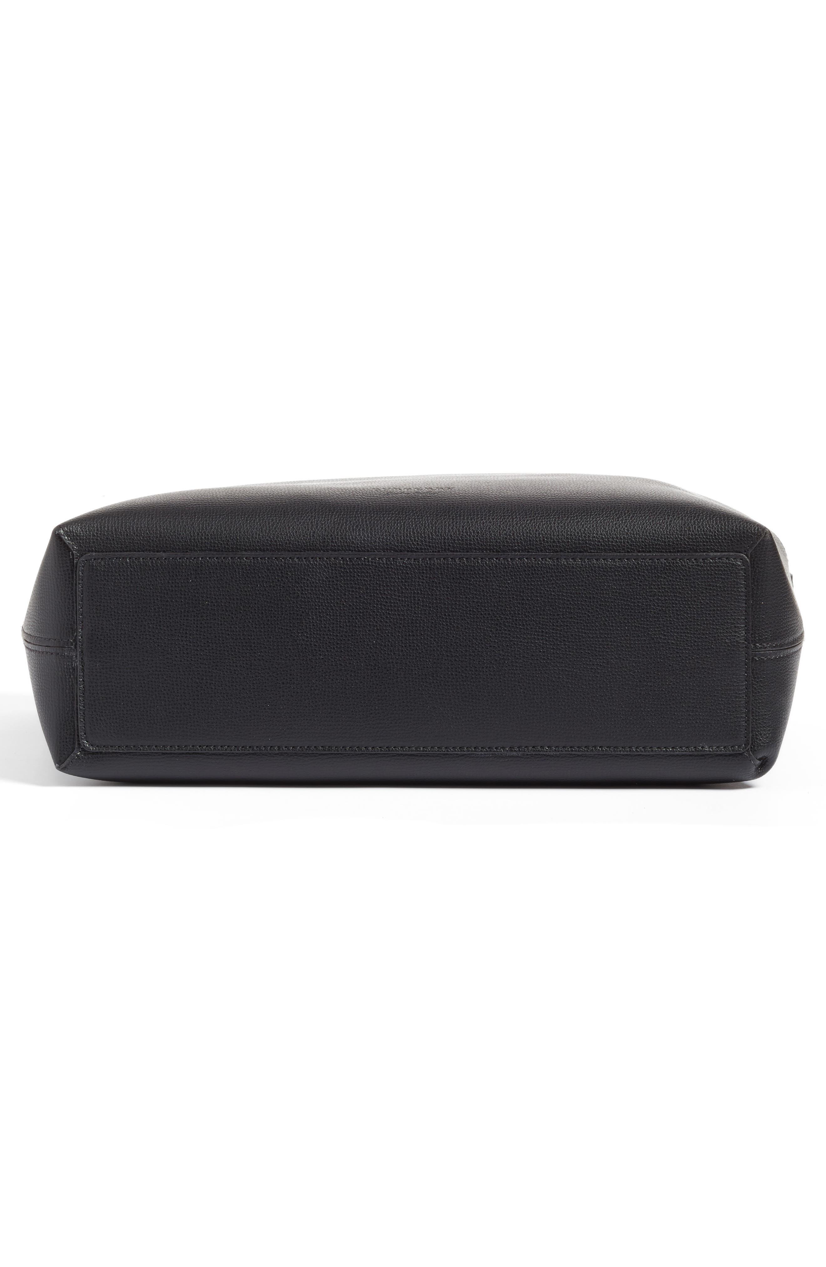 Alternate Image 6  - Burberry Medium Lavenby Reversible Calfskin Leather Tote