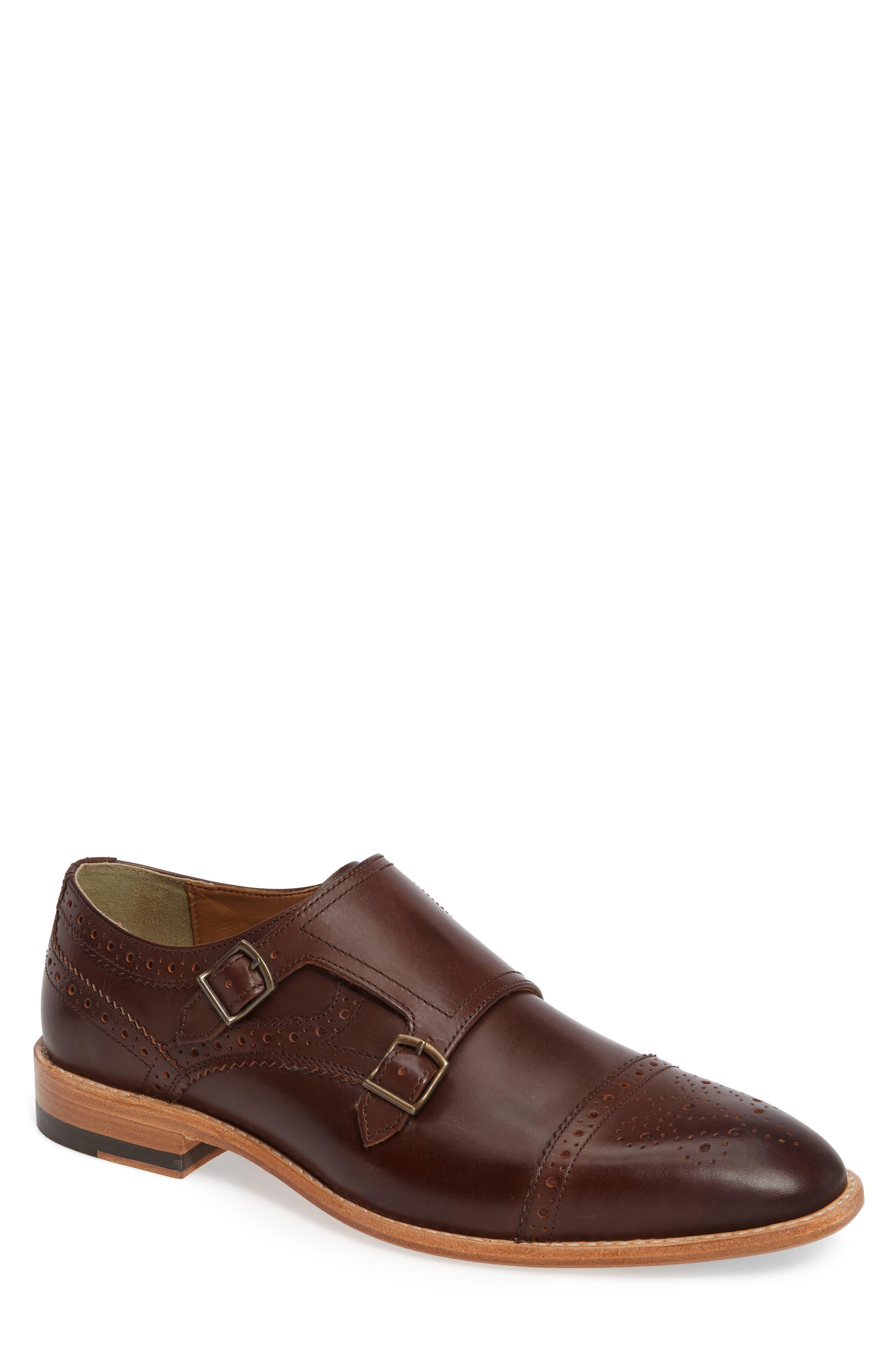 J&M 1850 Vance Cap Toe Monk Shoe