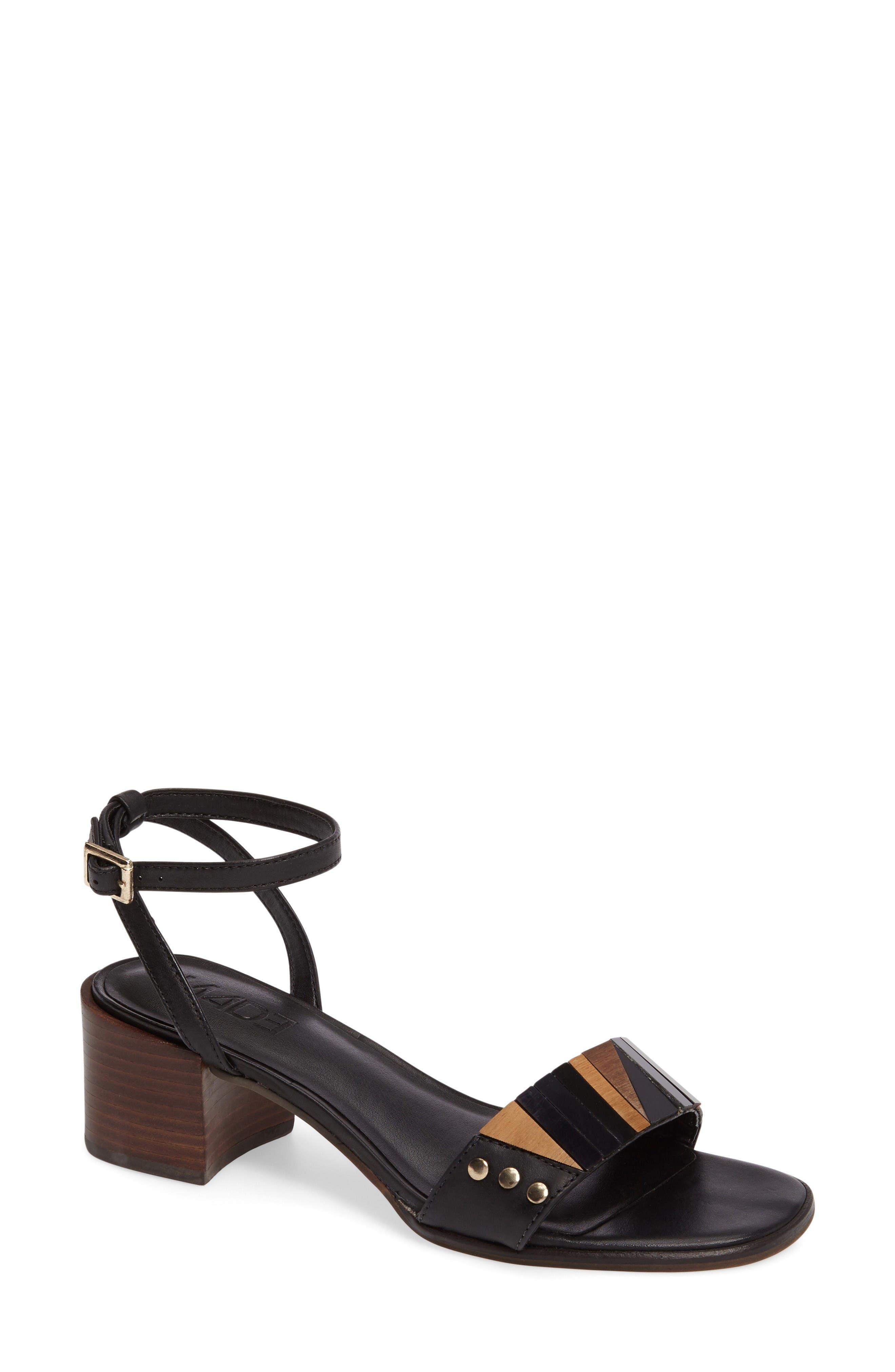 M4D3 FOOTWEAR M4D3 Summer Block Heel Sandal