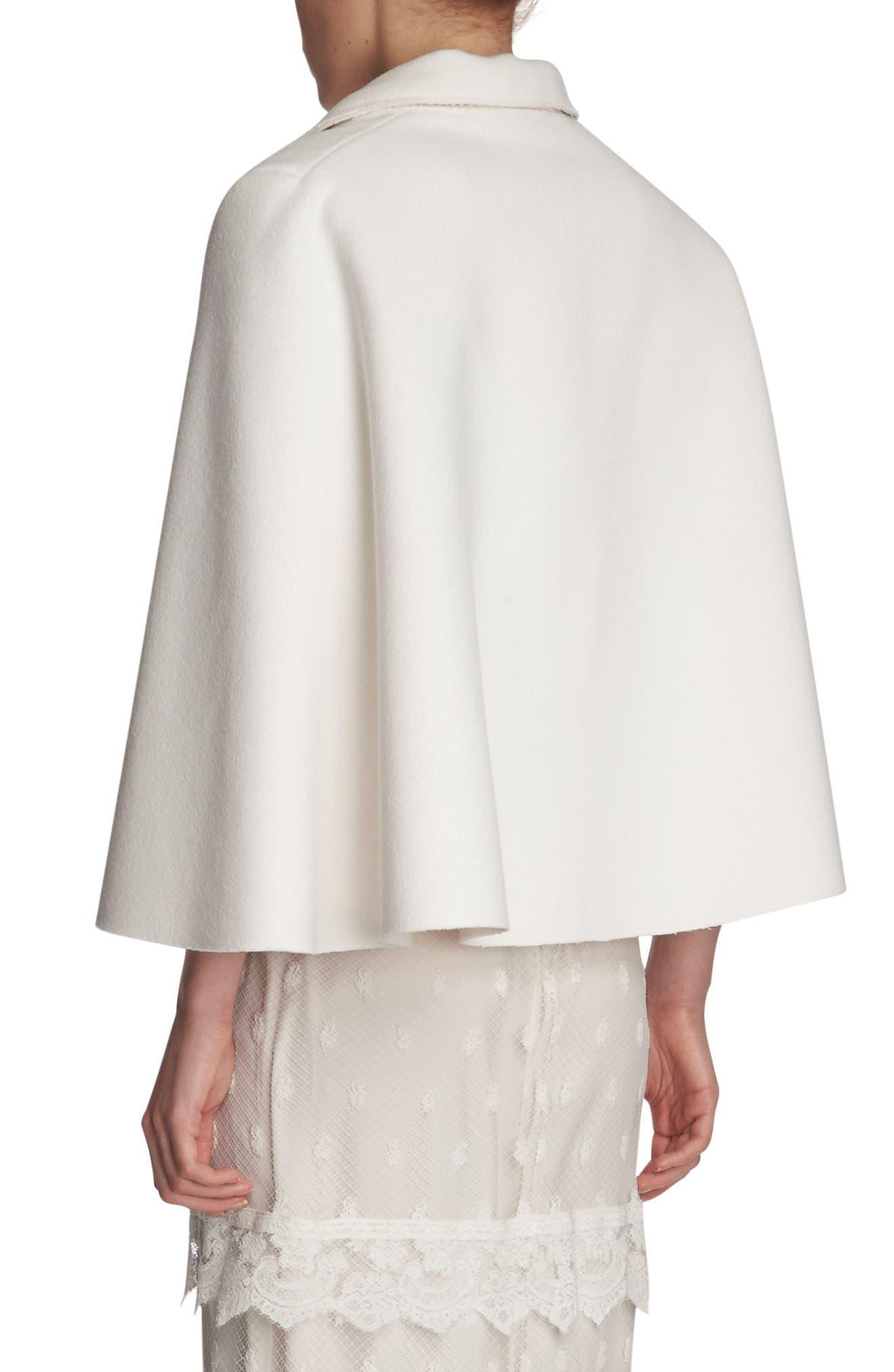 Alternate Image 4  - Burberry Wool Cape Jacket