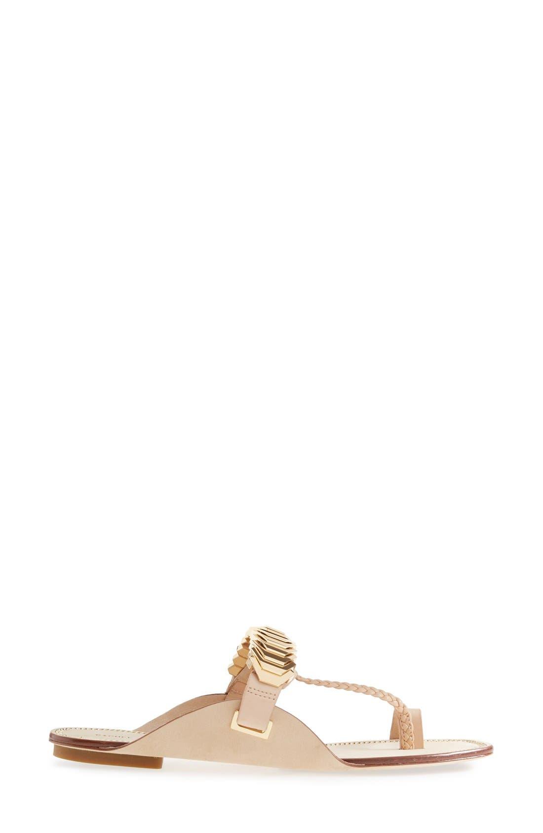 Alternate Image 4  - Rachel Zoe 'Ida' Leather Toe Loop Sandal (Women)