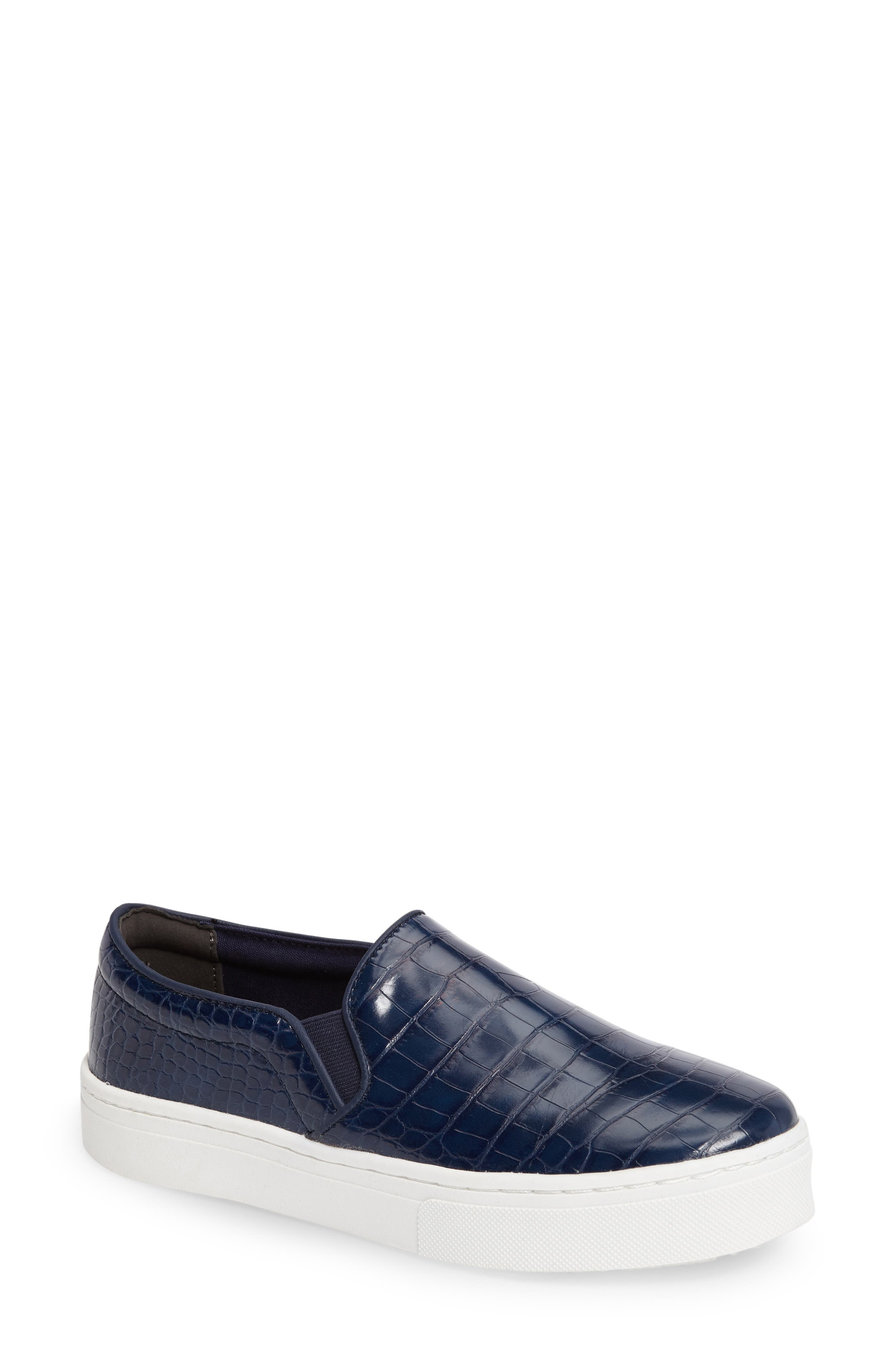 Alternate Image 1 Selected - Sam Edelman Lacey Slip-On Platform Sneaker (Women)