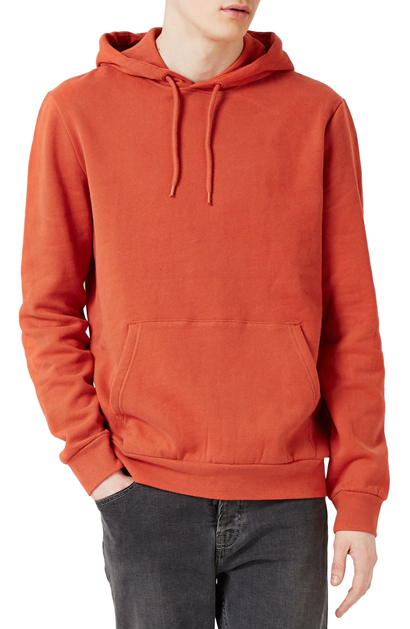 Topman Classic Fit Pullover Hoodie