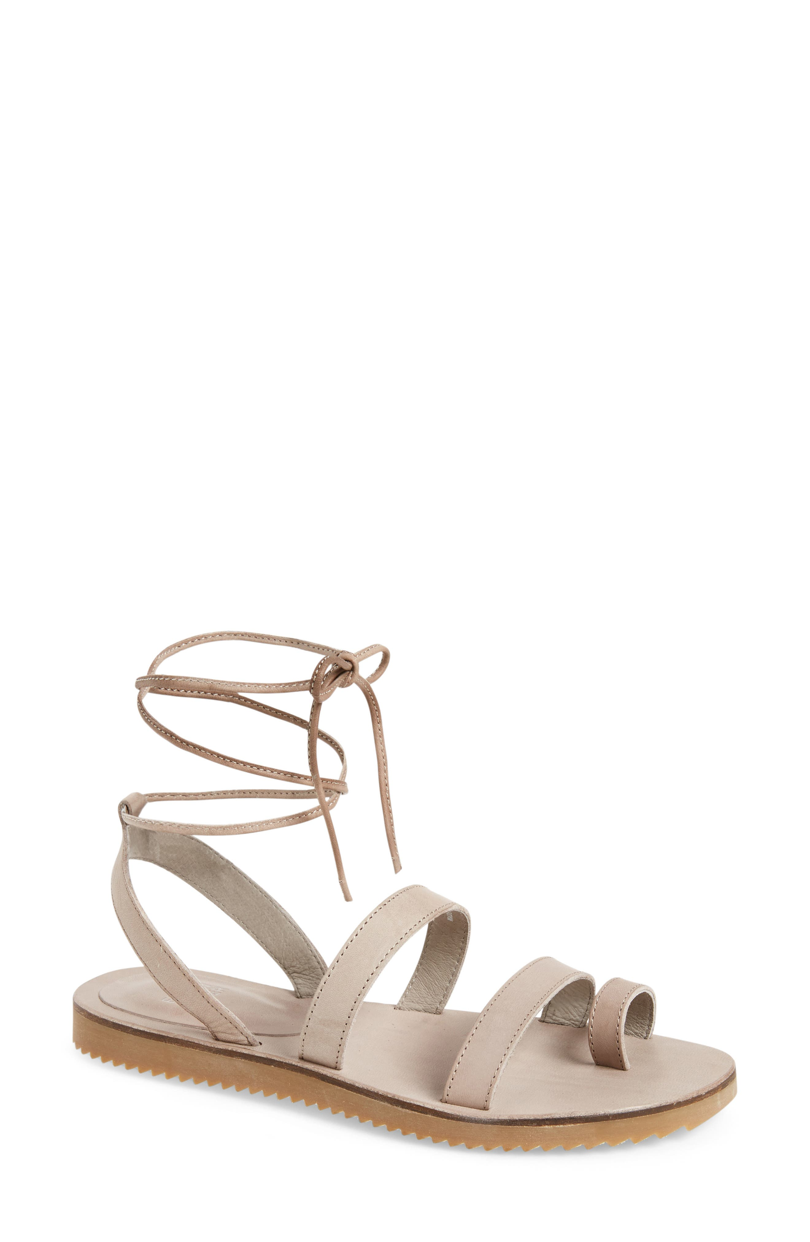 Alternate Image 1 Selected - Eileen Fisher Wales Lace-Up Sandal (Women)