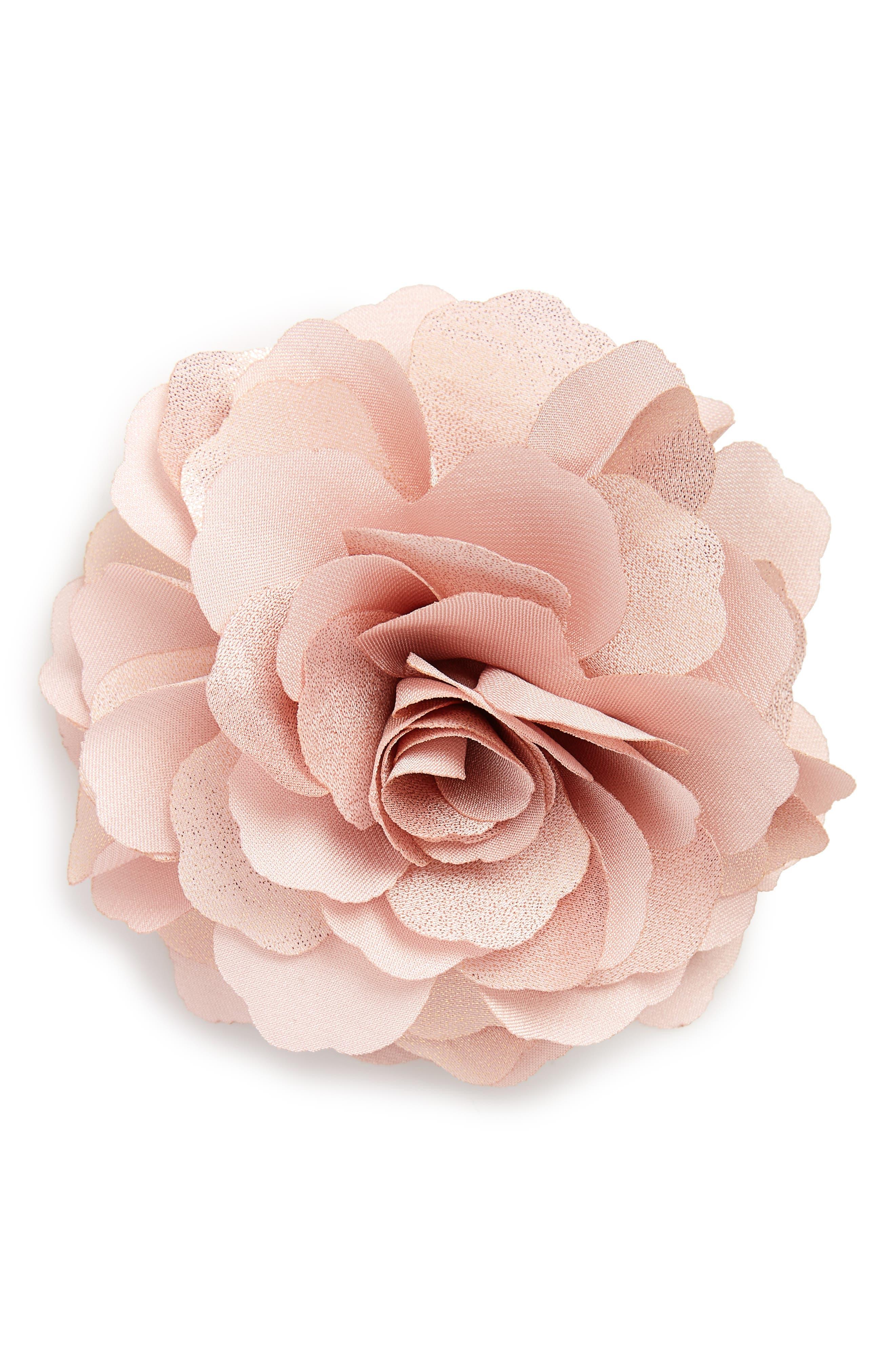 Alternate Image 1 Selected - Cara Organza Rose Pin