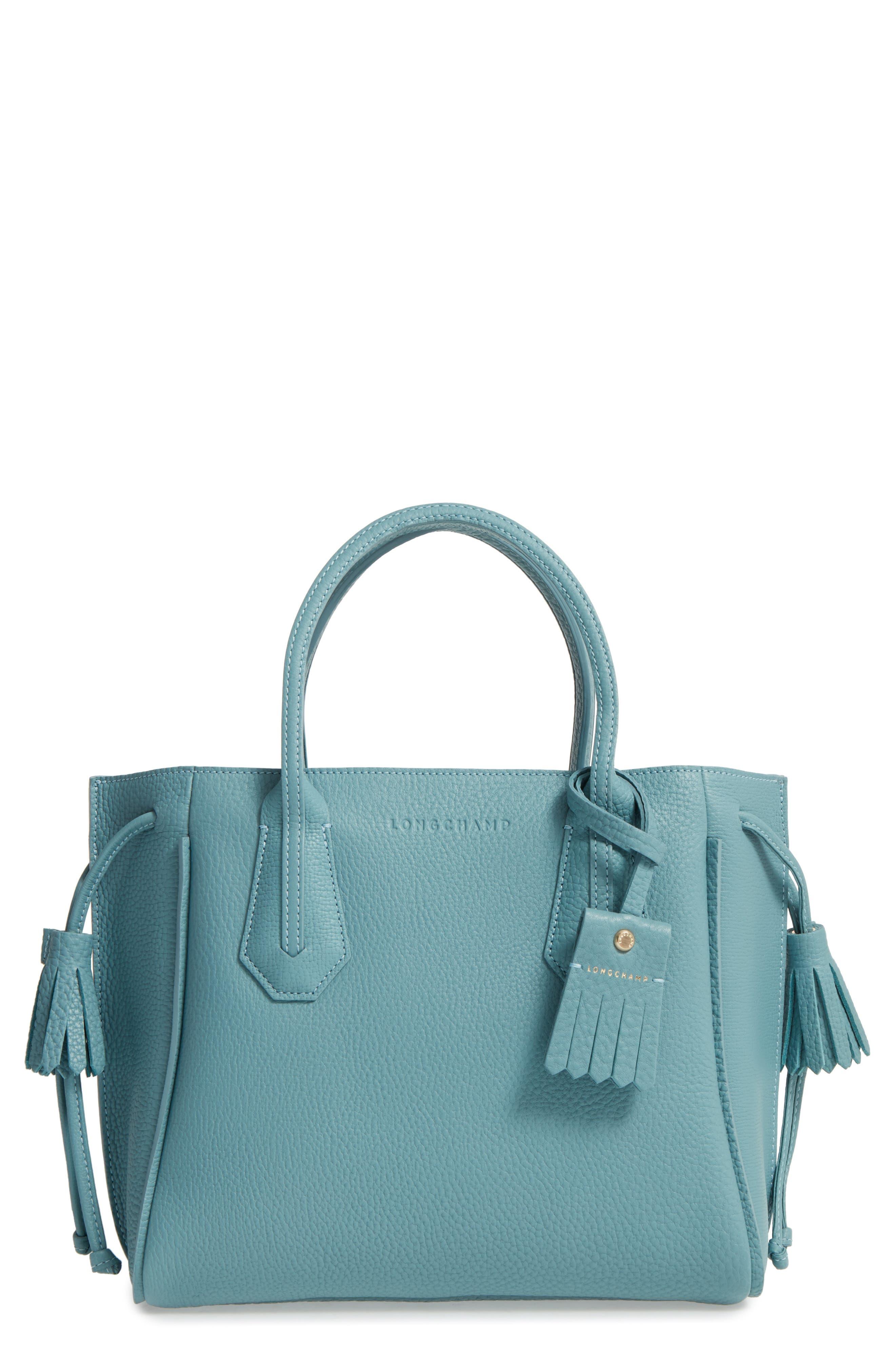 Main Image - Longchamp 'Small Penelope' Leather Tote