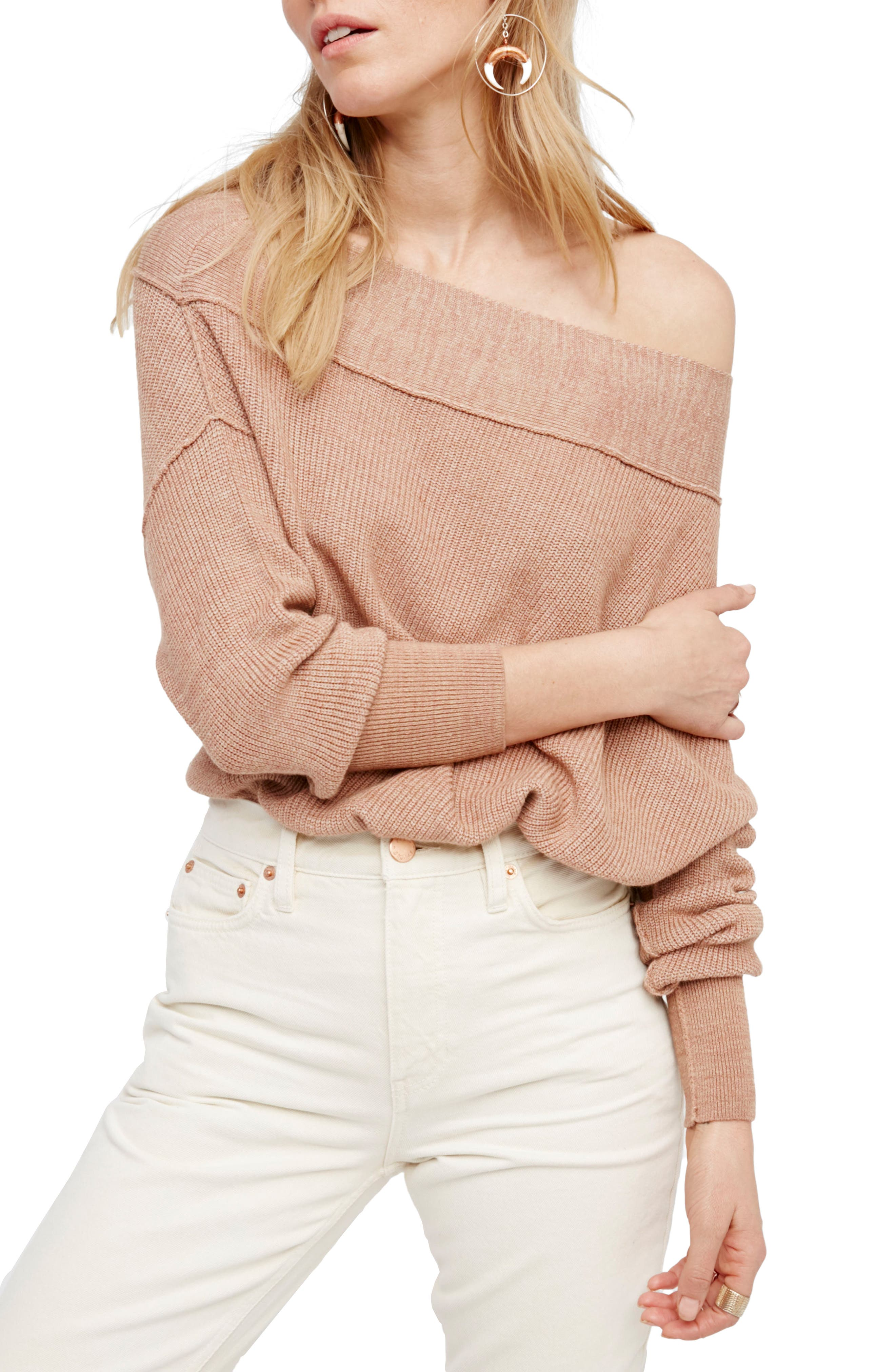 Alternate Image 1 Selected - Free People Alana Pullover Sweater