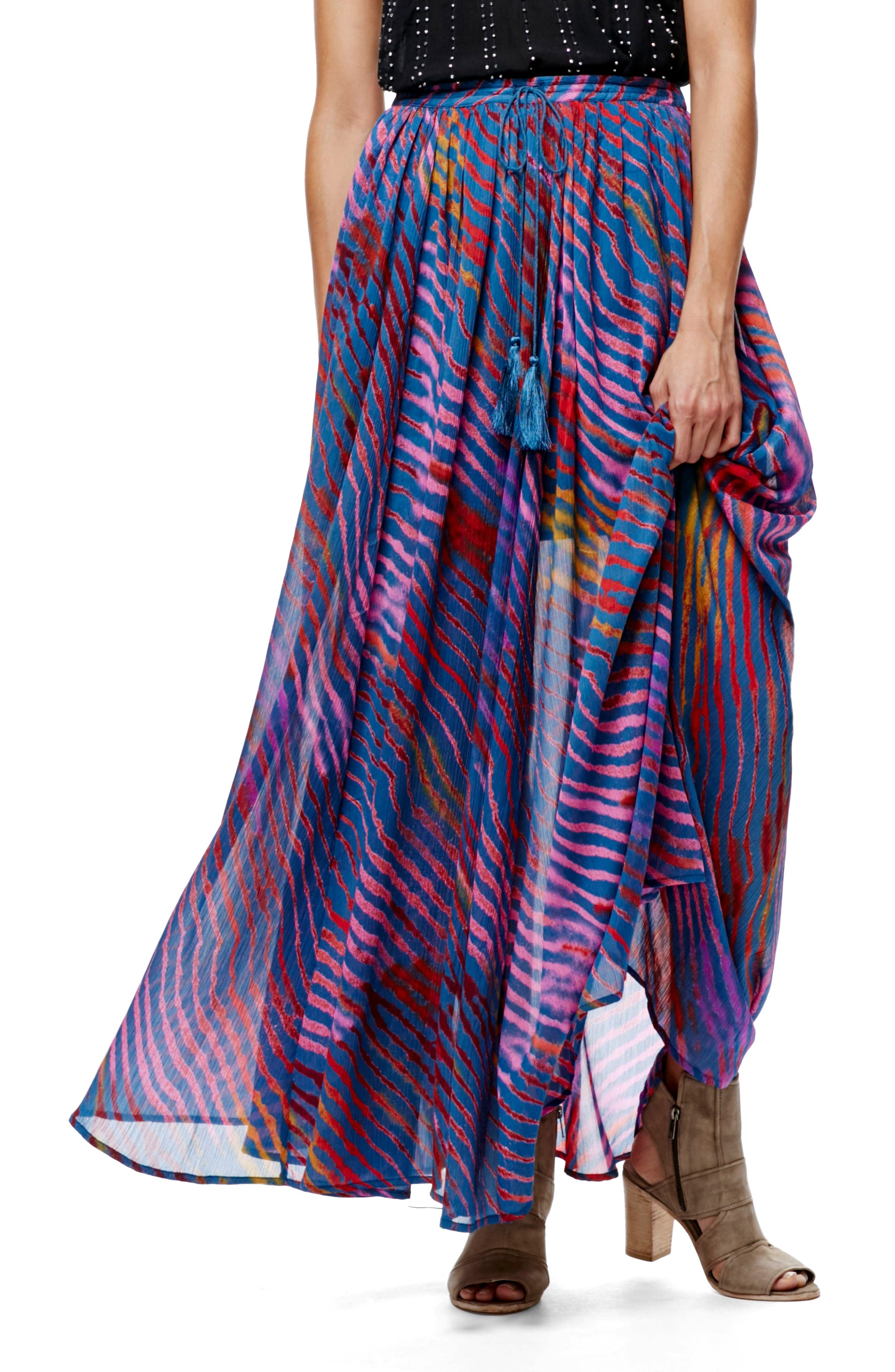 Main Image - Free People True To You Maxi Skirt