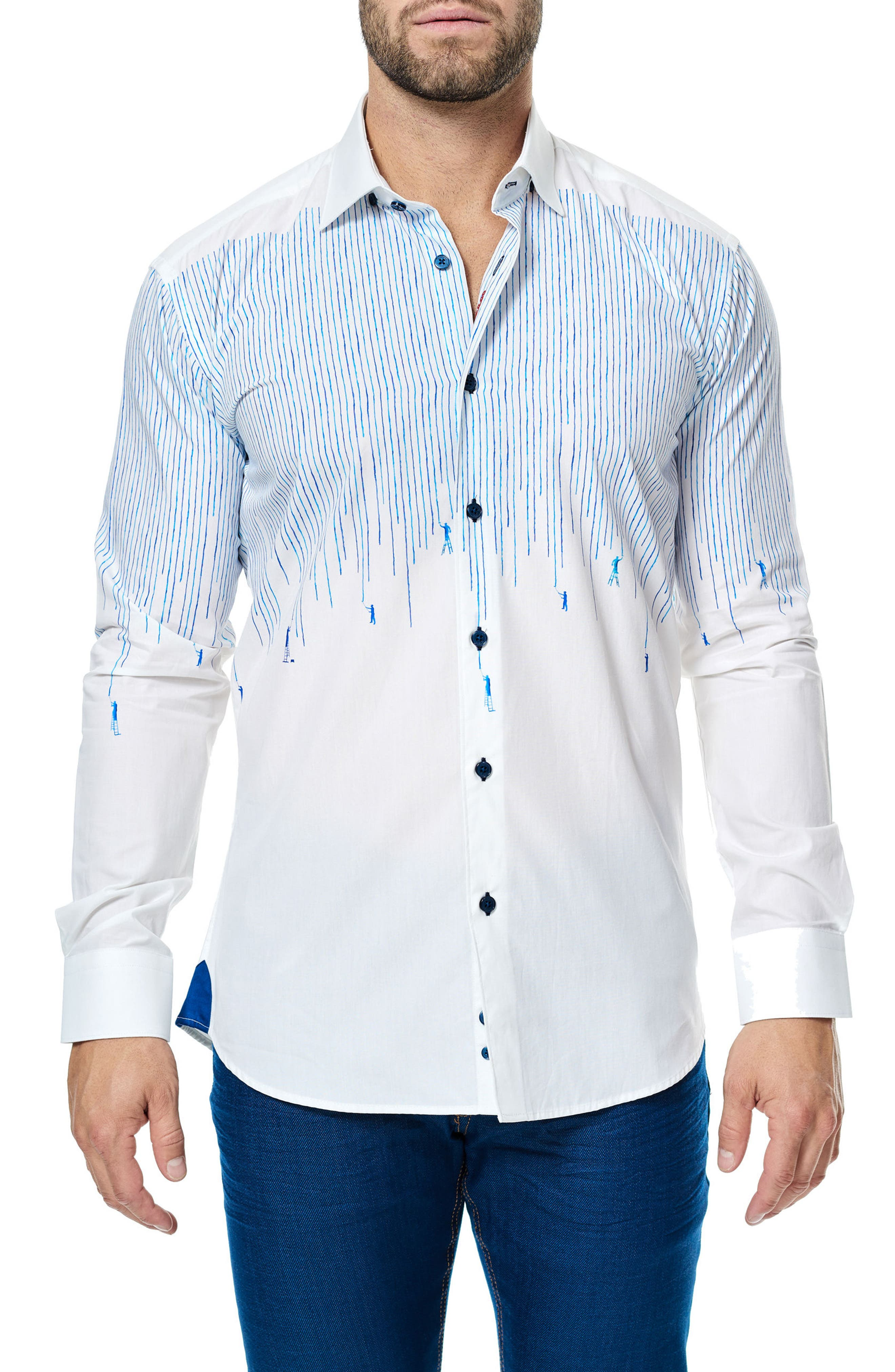 Maceoo Luxor Painter Sport Shirt