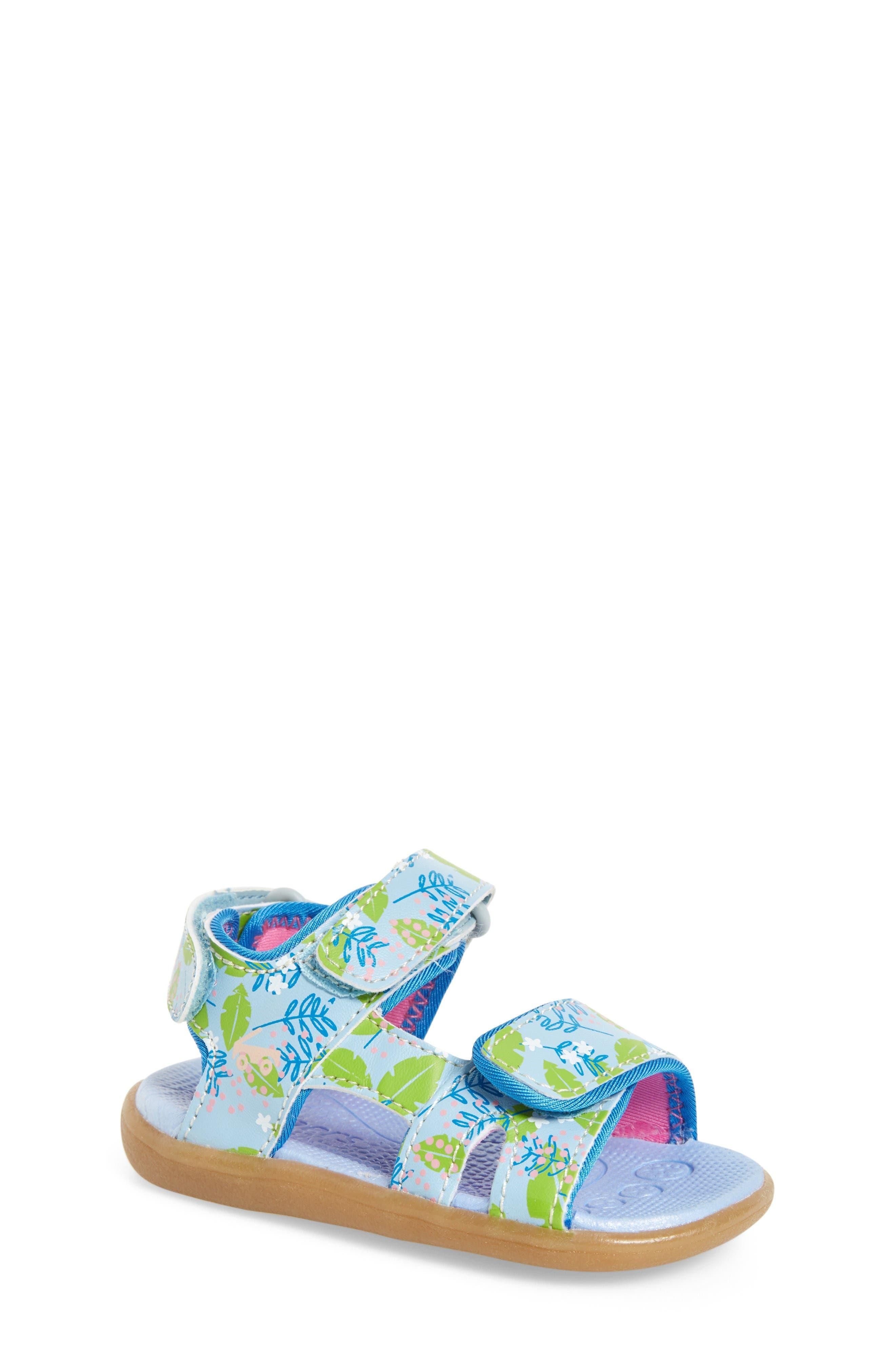 See Kai Run 'Makena' Sandal (Baby, Walker & Toddler)