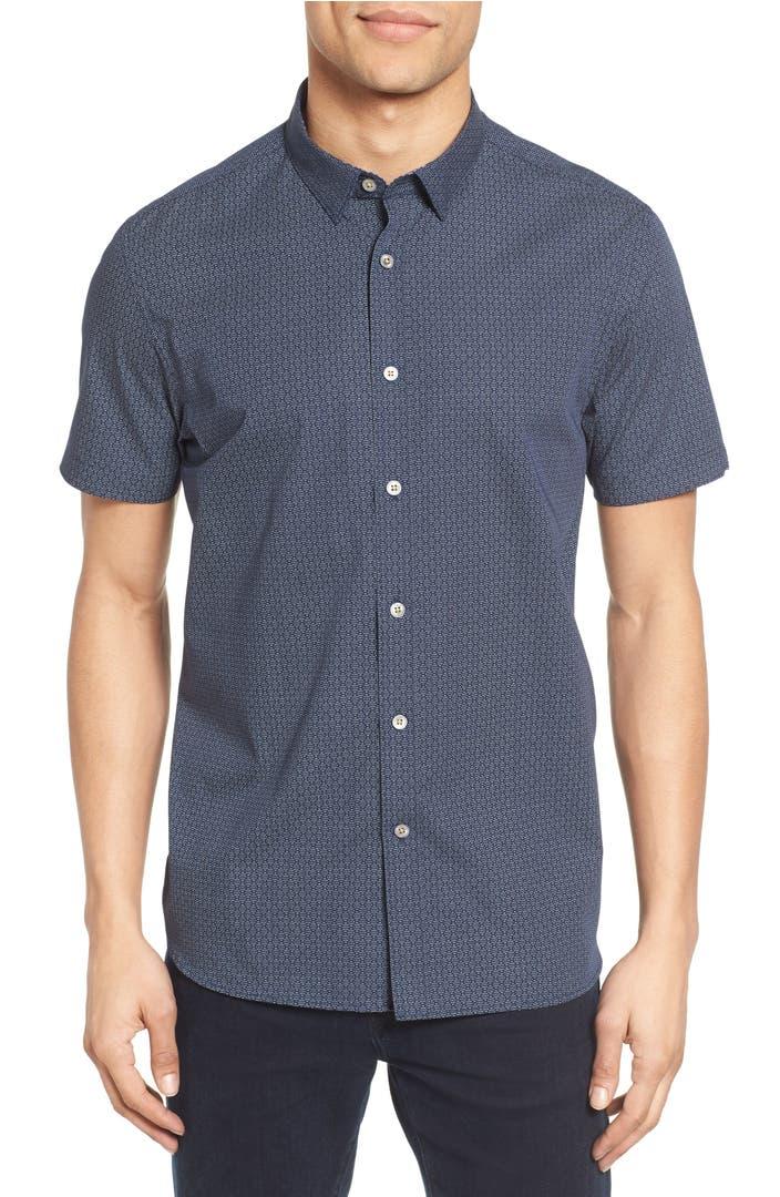 Ted Baker London Hungoo Extra Slim Fit Print Sport Shirt