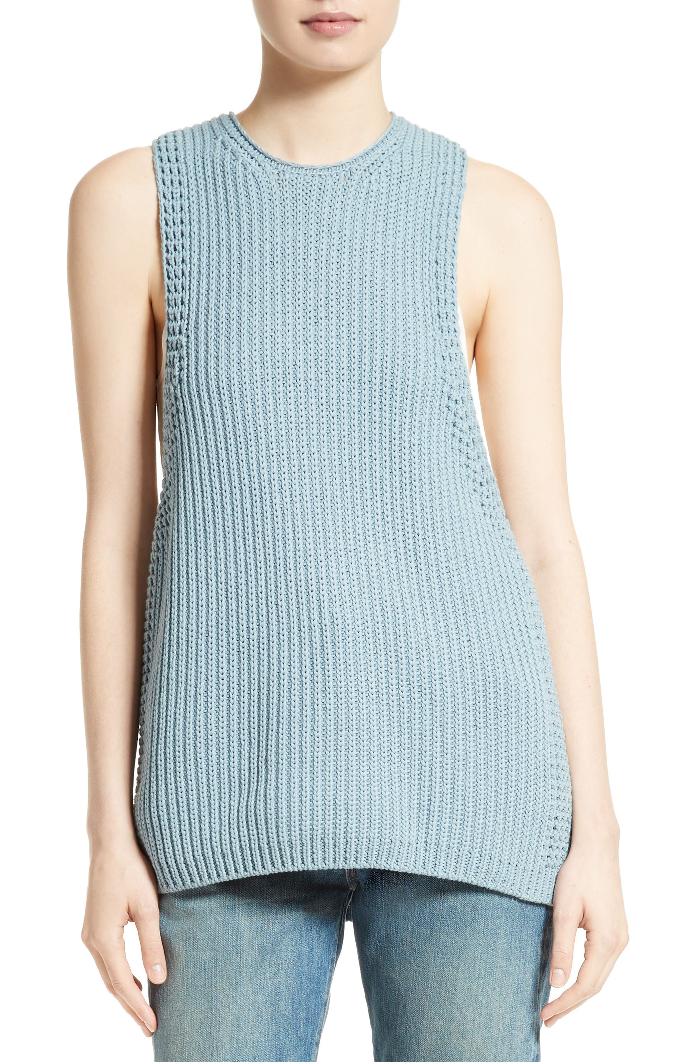 Alternate Image 1 Selected - Vince Waffle Stitch Tank