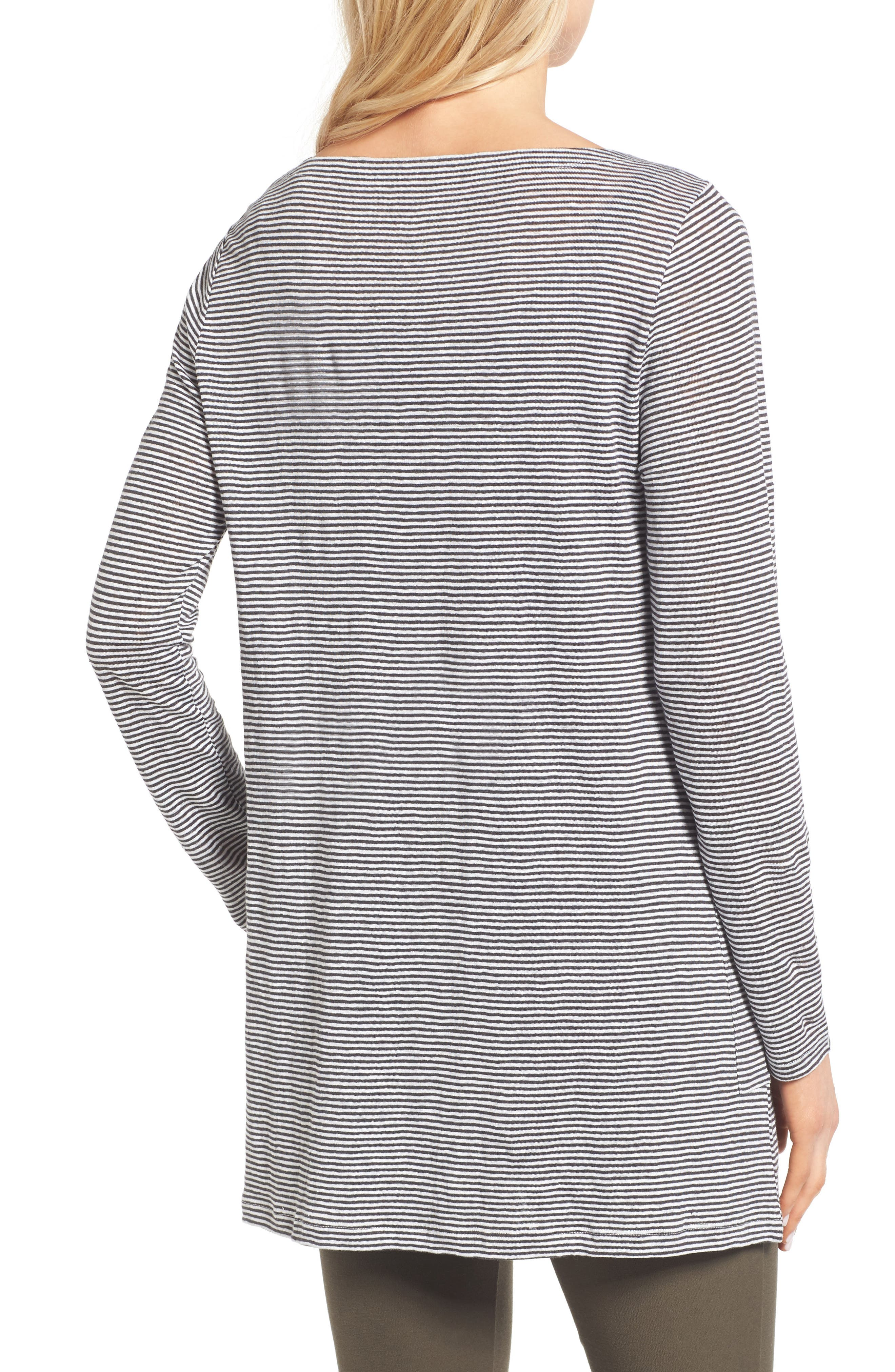 Alternate Image 2  - Eileen Fisher Organic Linen Knit Tunic