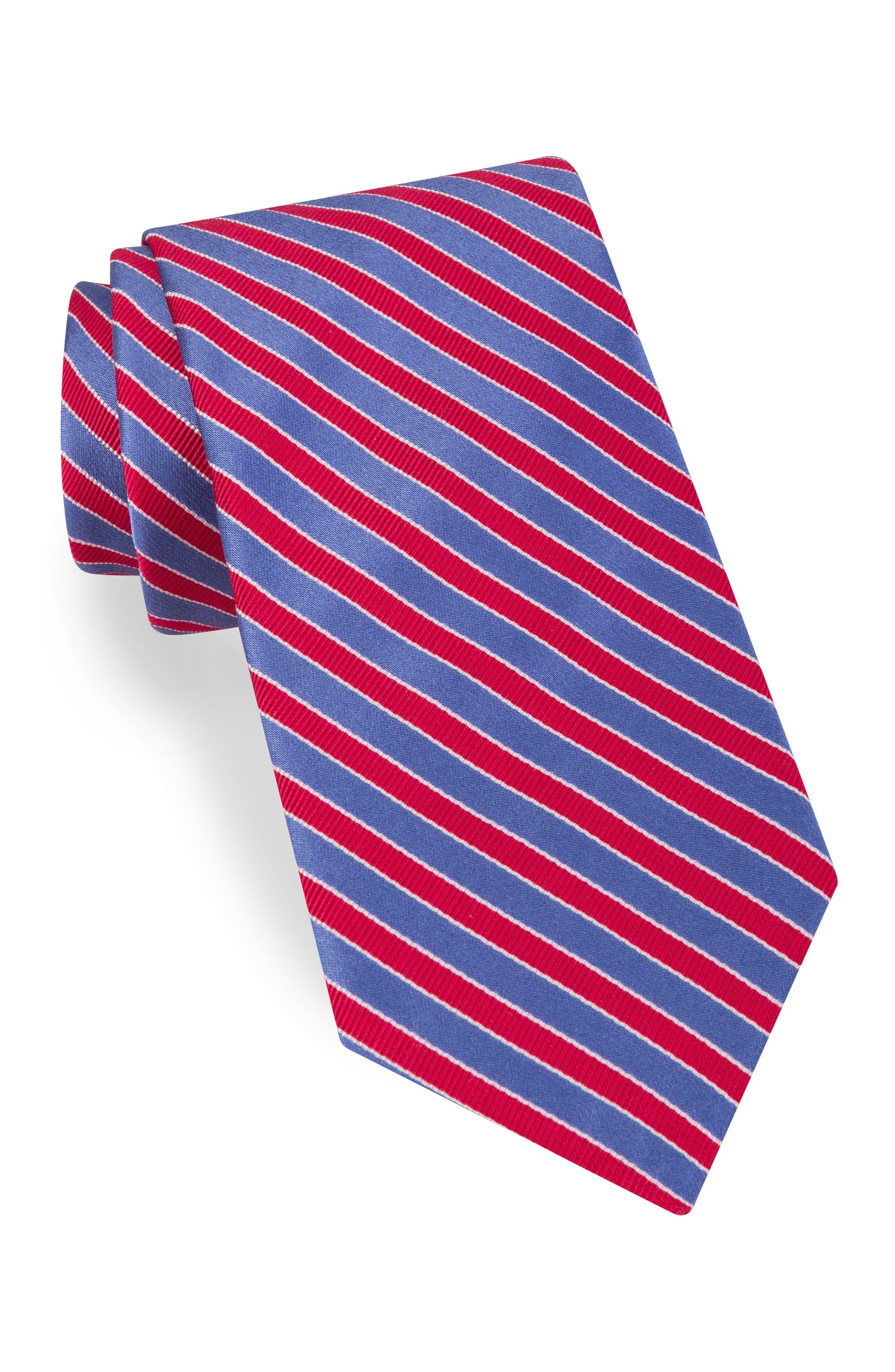 TED BAKER LONDON Mogador Stripe Silk & Cotton