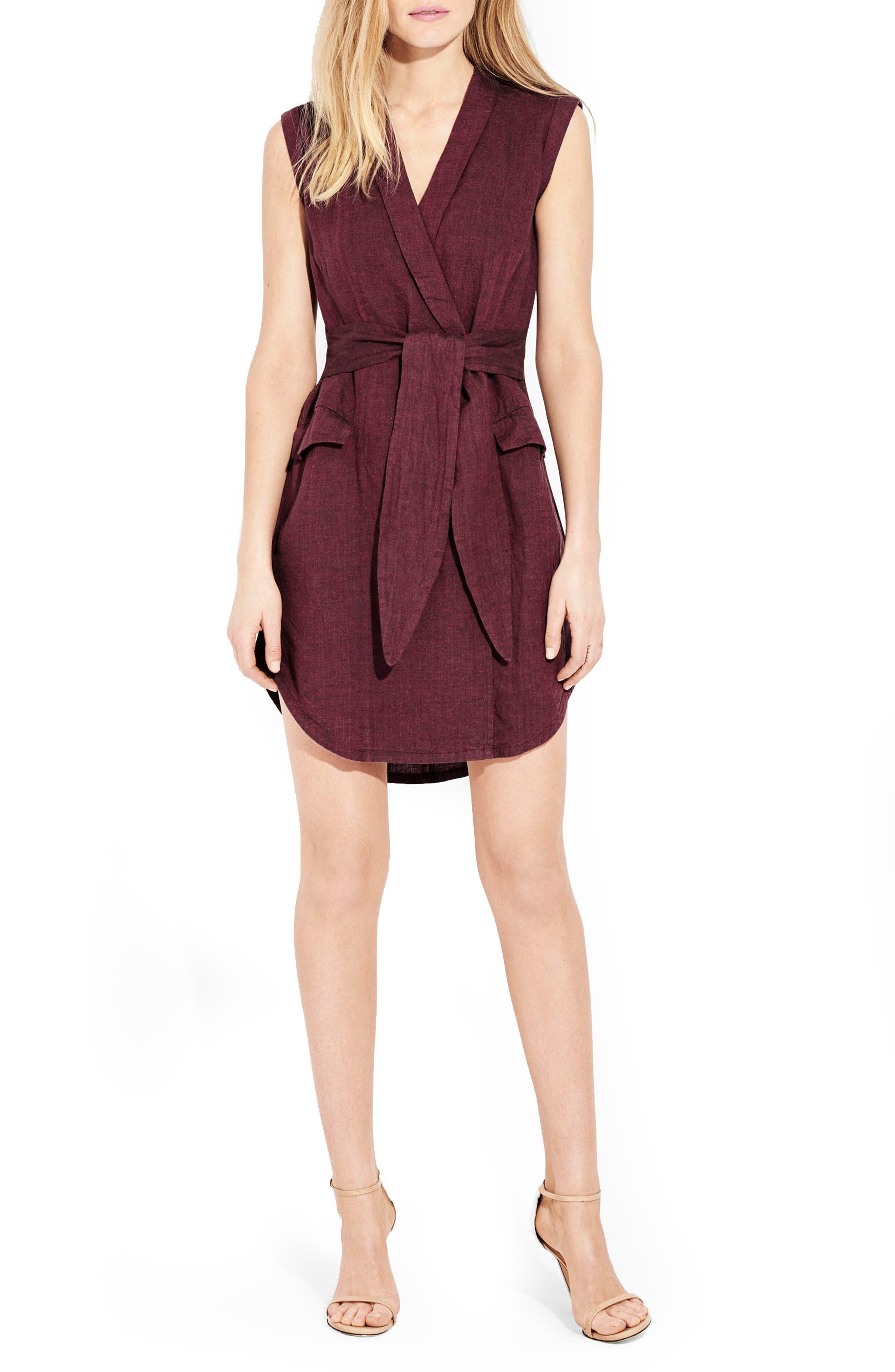 AYR The Linen Utility Dress