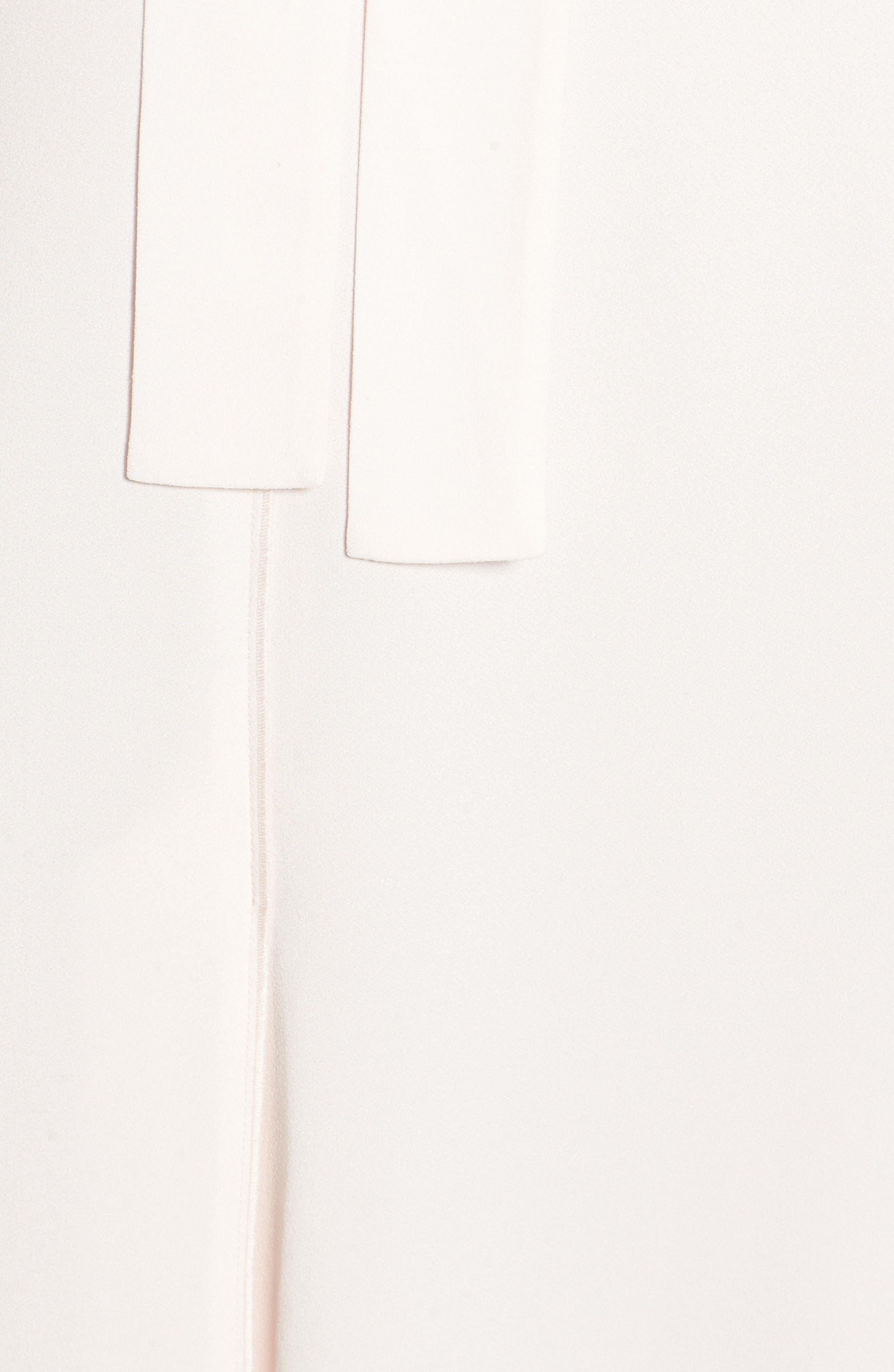 Alternate Image 5  - Classiques Entier® Italian Crepe Midi Dress