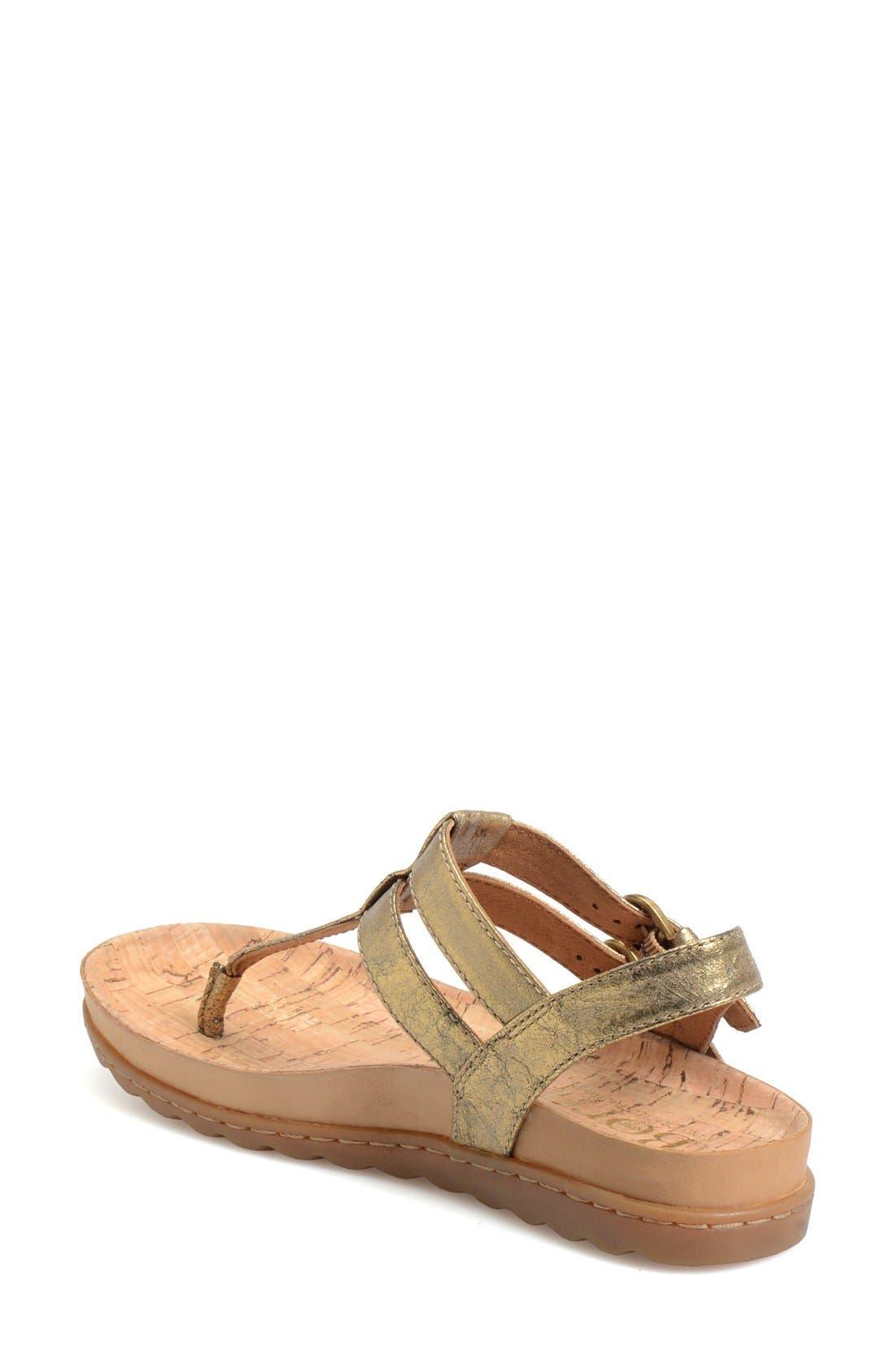 Alternate Image 2  - Børn 'Reta' Leather Thong Sandal (Women)
