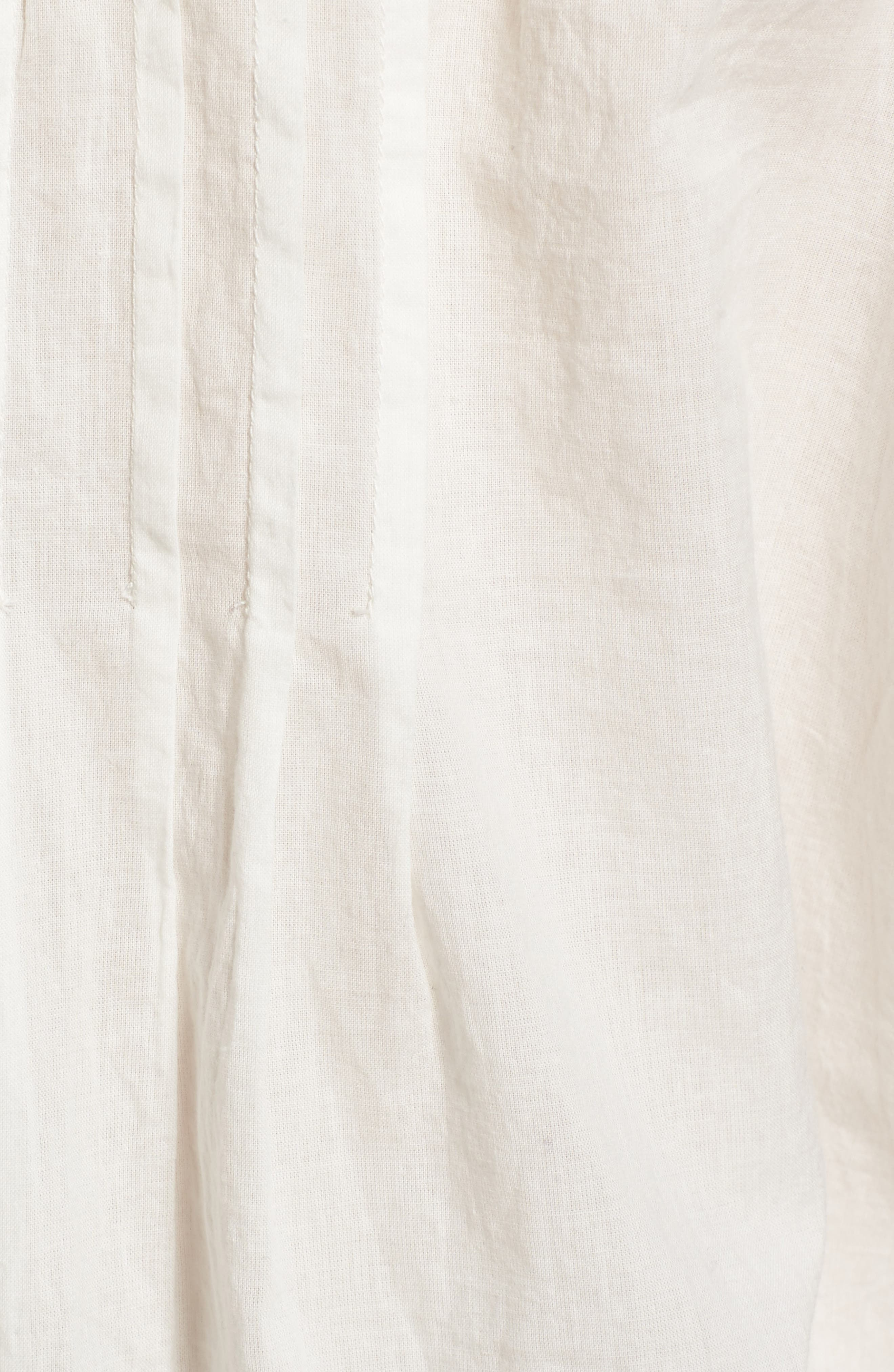 Alternate Image 6  - Current/Elliott The Lace Cotton Tank