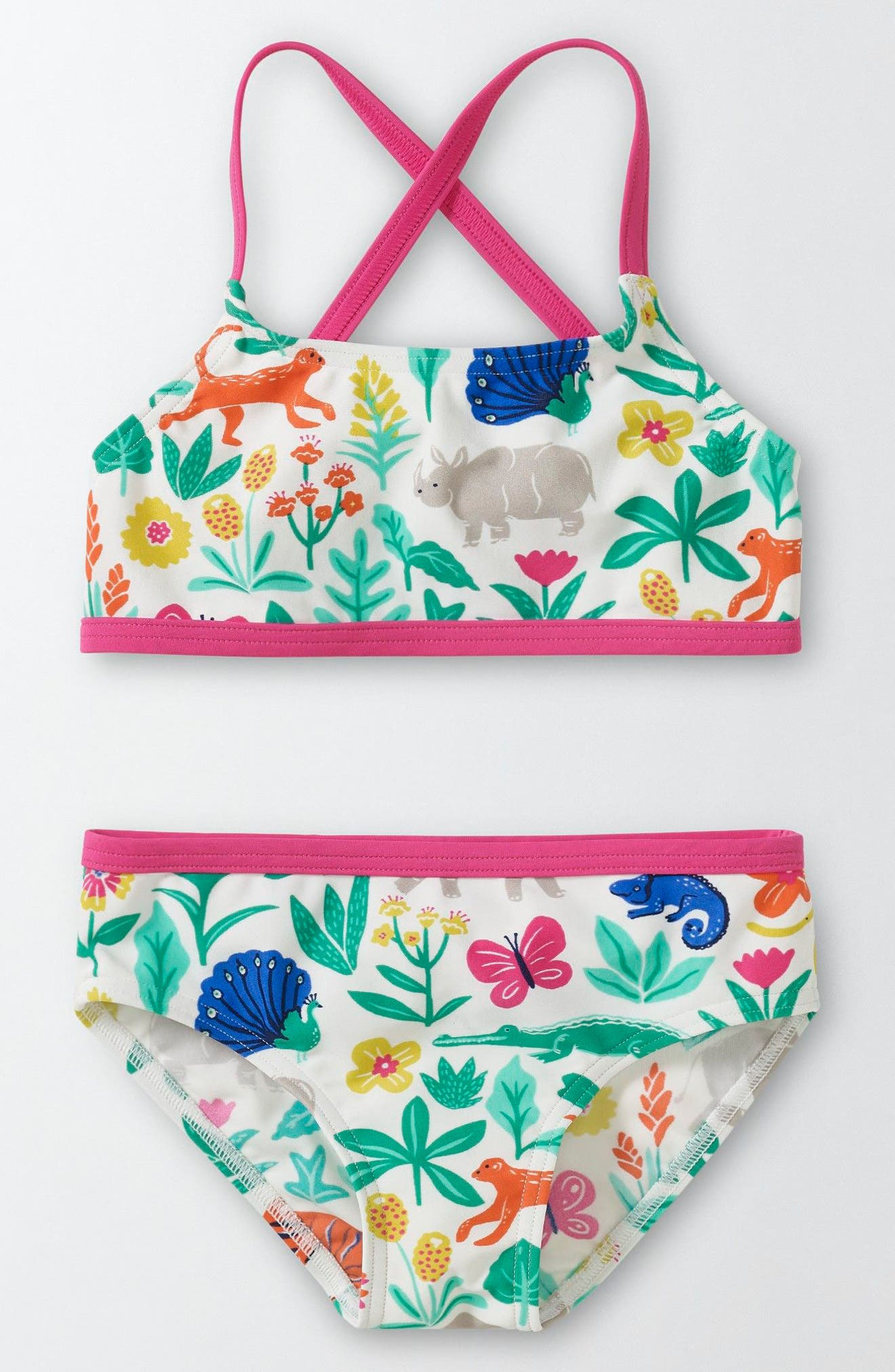 MINI BODEN Into the Sea Two-Piece Swimsuit