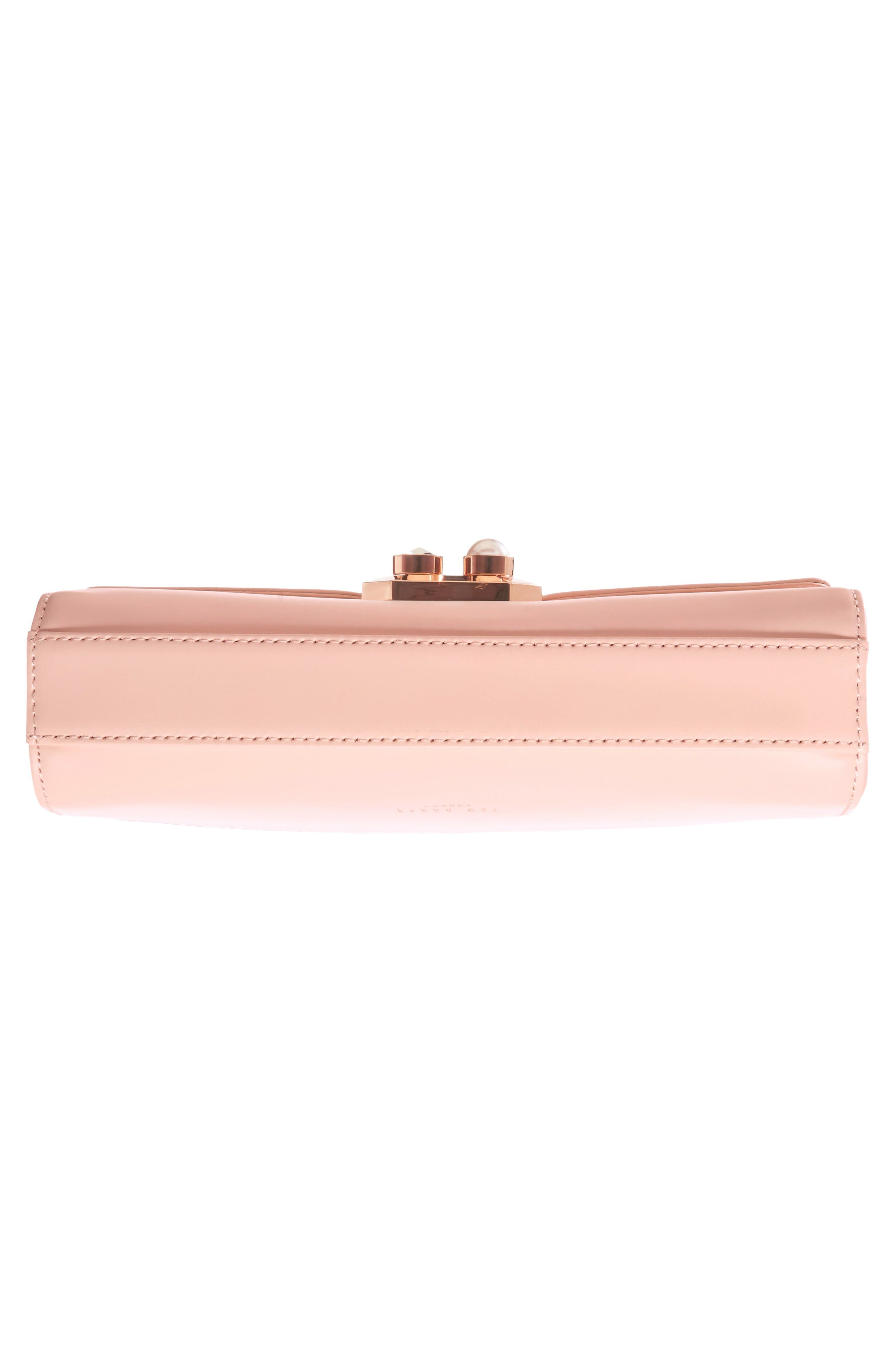 Alternate Image 5  - Ted Baker London Leather Crossbody Bag