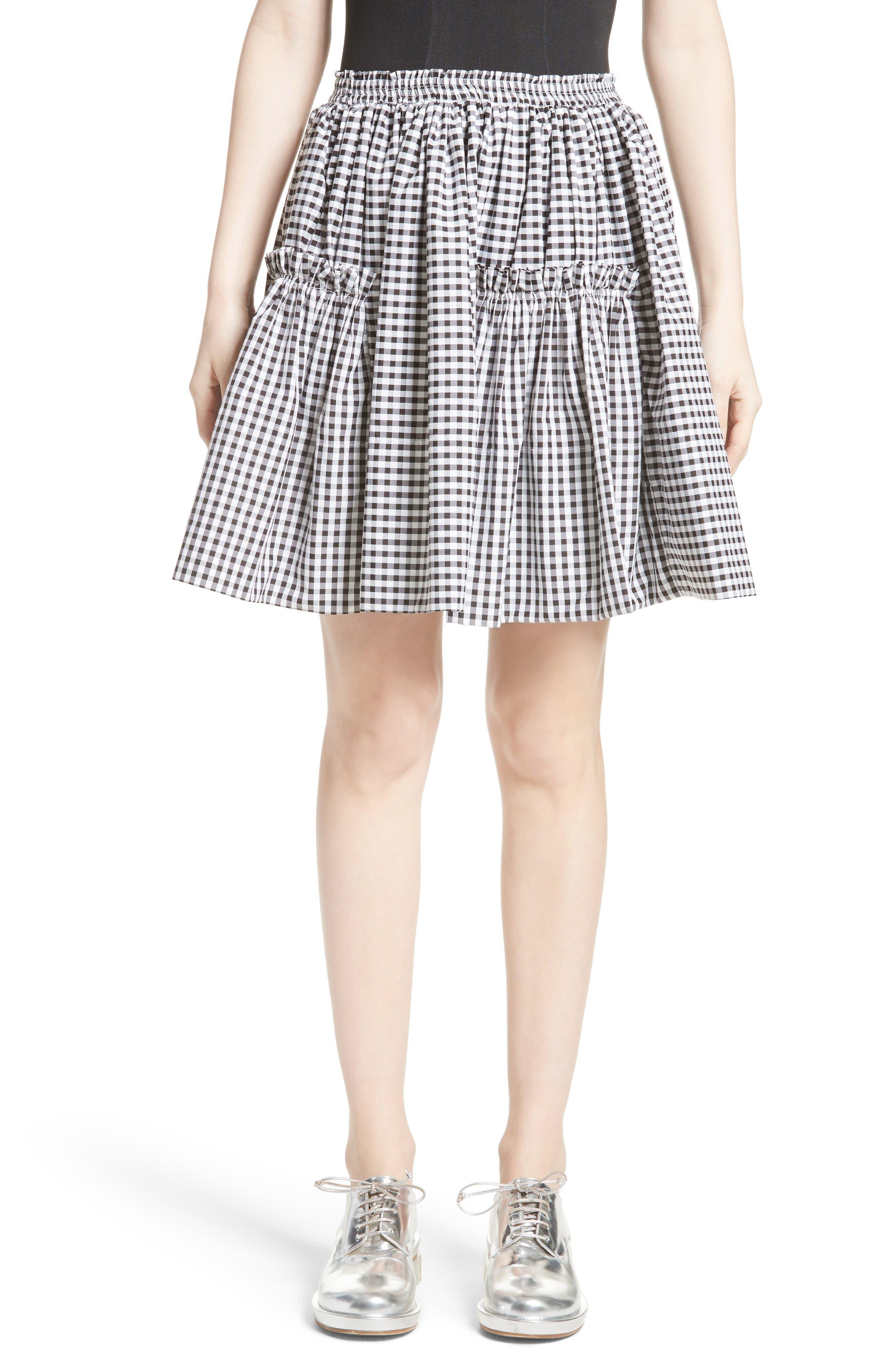 MOLLY GODDARD Georgia Miniskirt