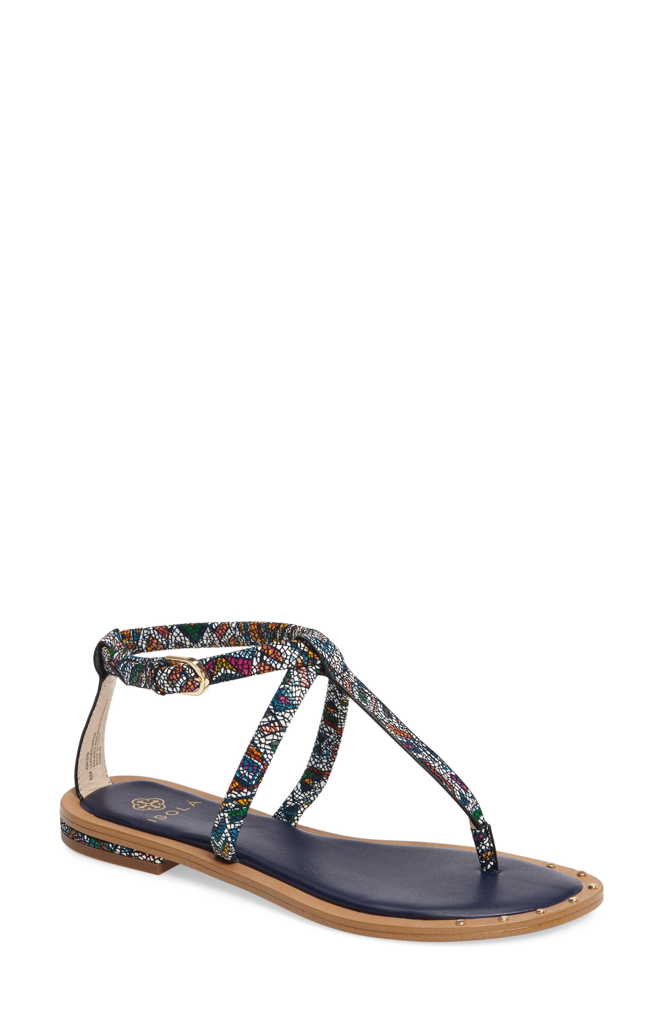 Isola Mackenzie T-Strap Sandal (Women)