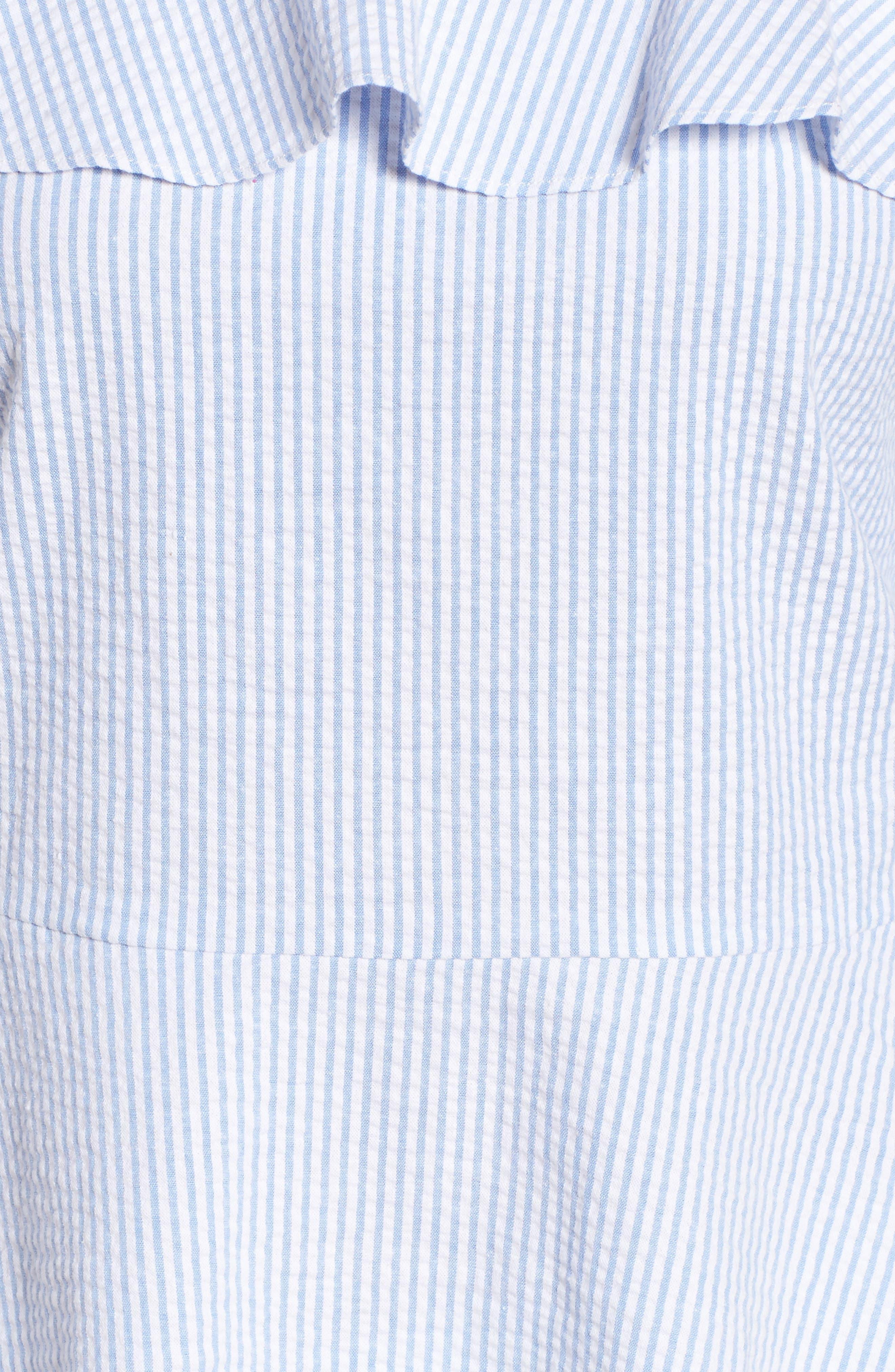 Alternate Image 5  - Halogen® Off the Shoulder Peplum Top (Regular & Petite)