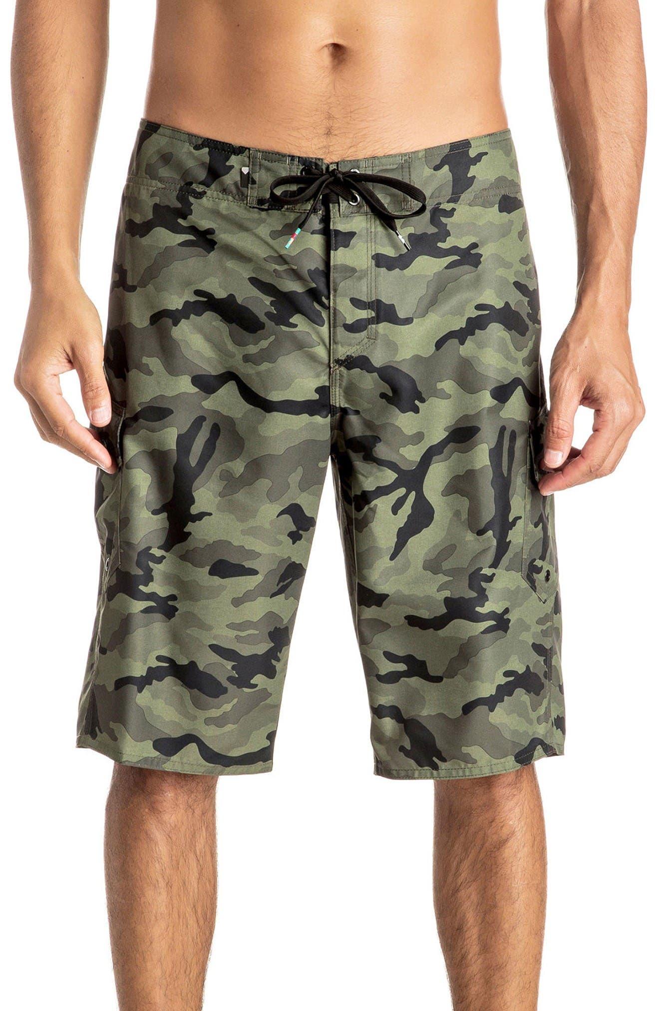 Quiksilver Manic Camo Board Shorts