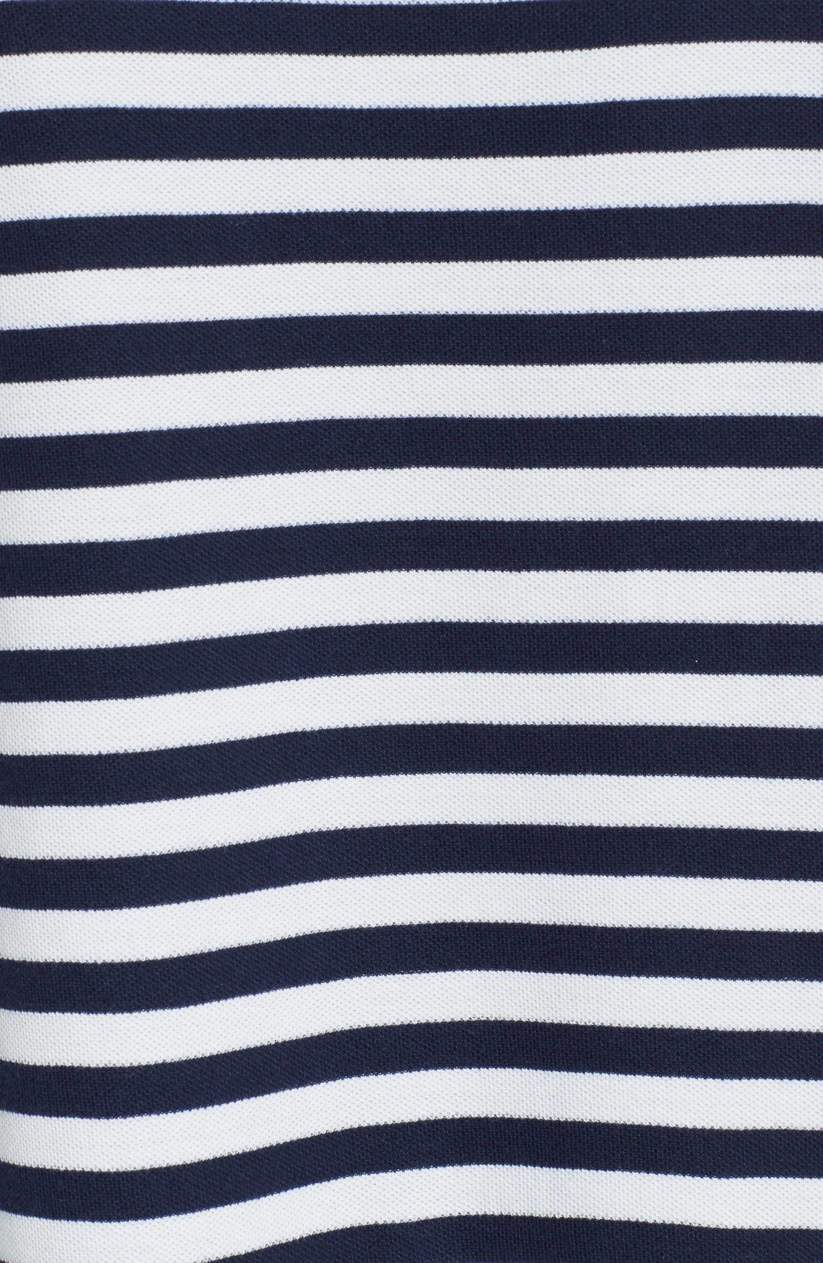 Alternate Image 5  - ATM Anthony Thomas Melillo Extended Shoulder Piqué Dress