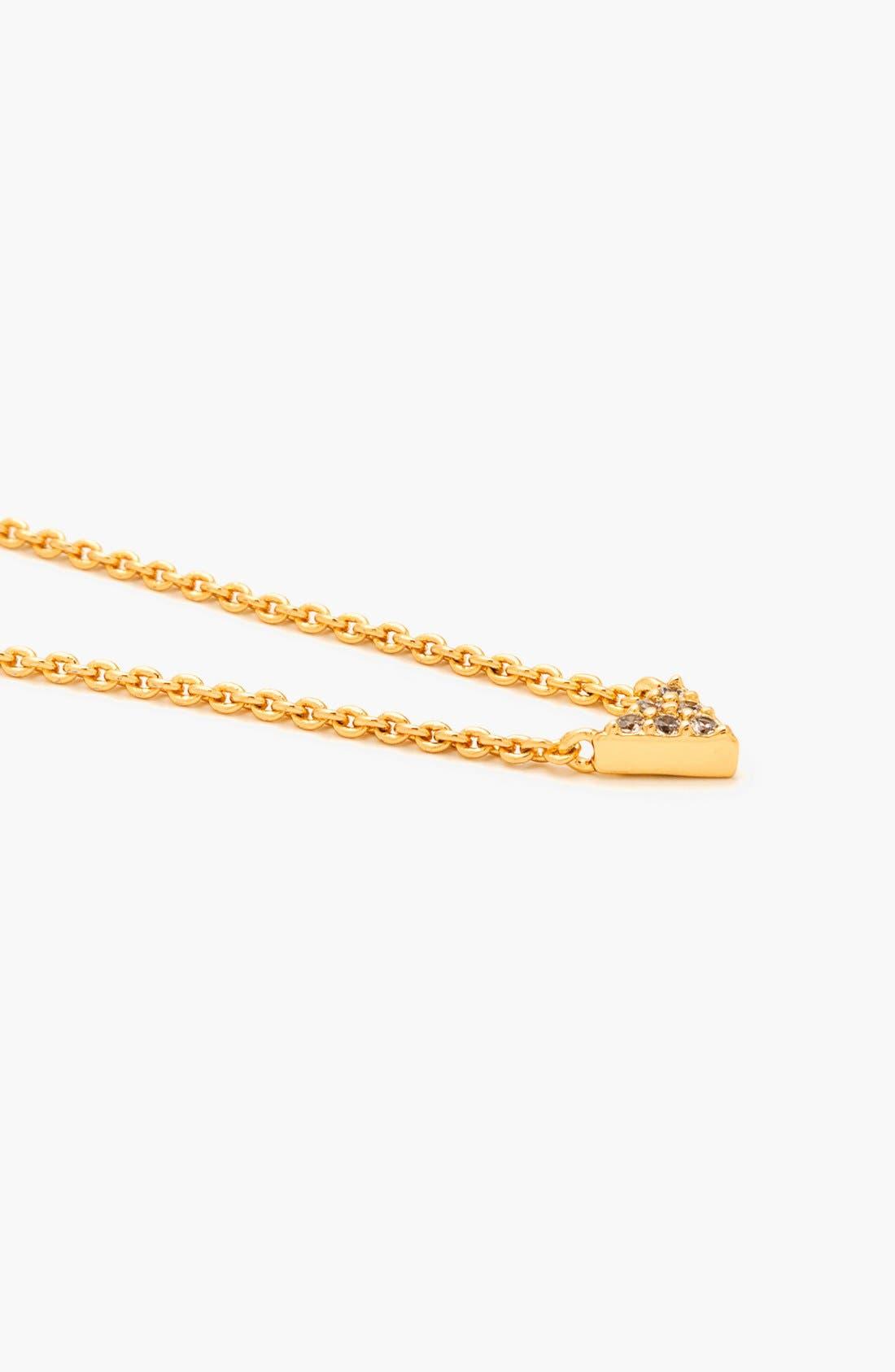Alternate Image 3  - gorjana 'Shimmer' Triangle Pendant Necklace