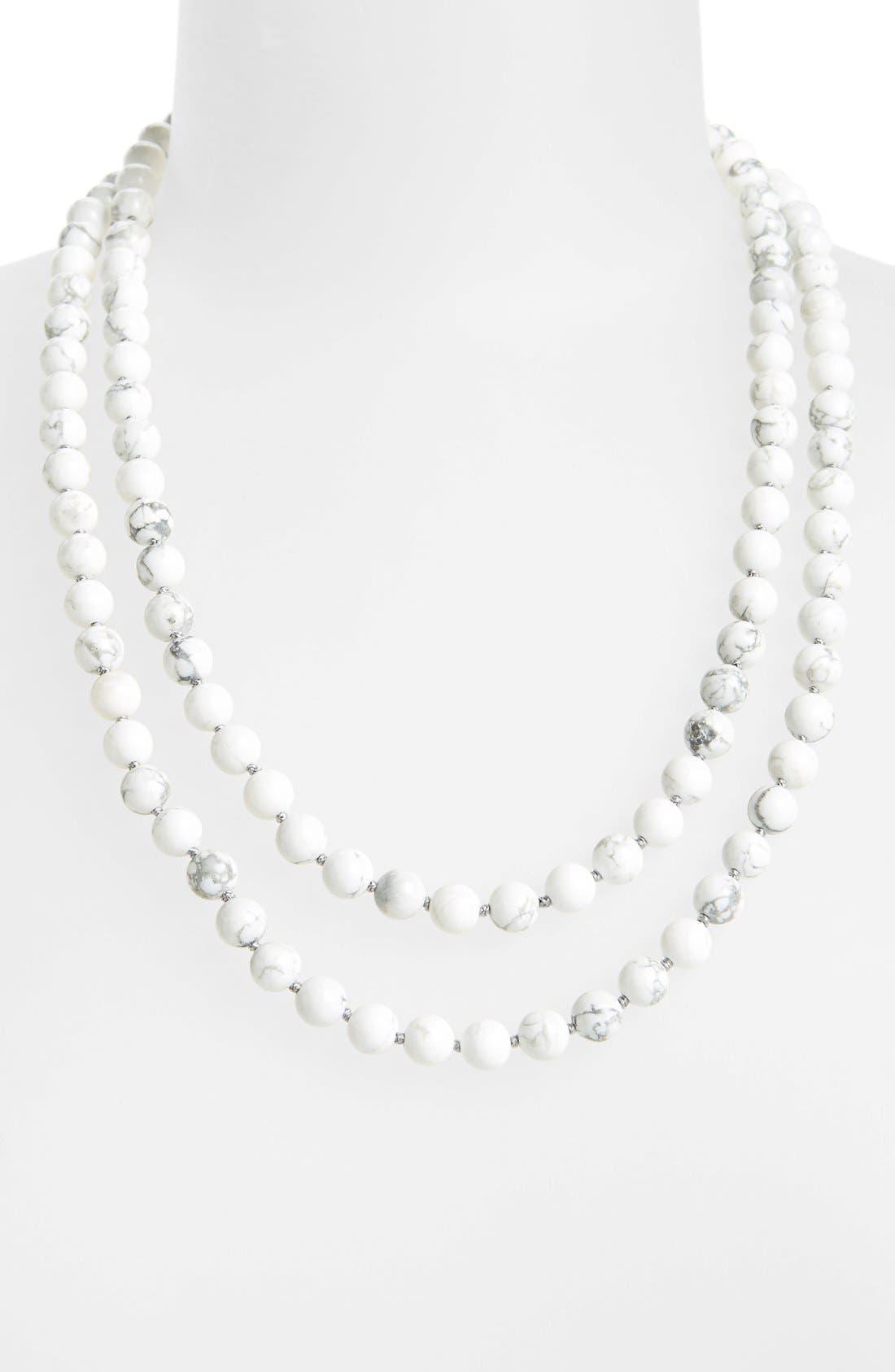 Main Image - Nordstrom Long Semiprecious Necklace