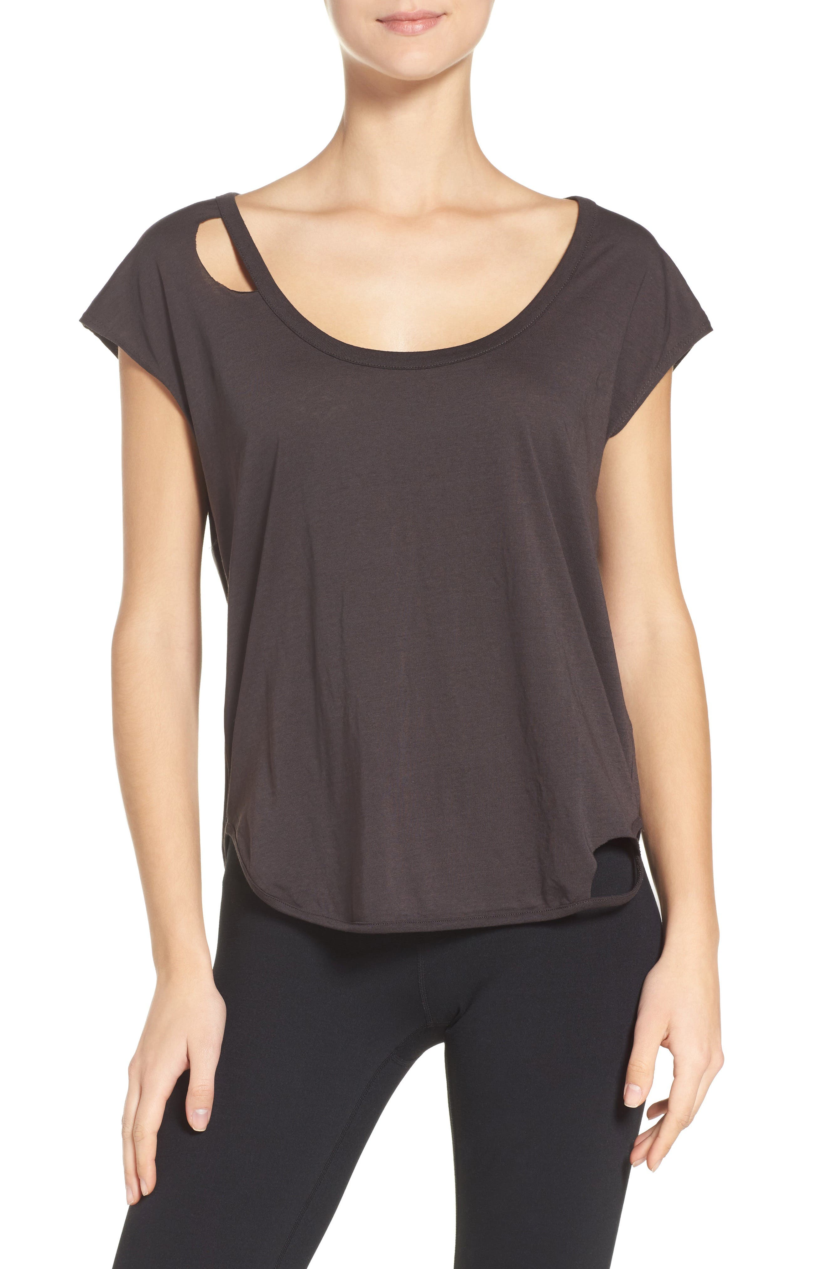 Chaser Cutout Lounge Tee