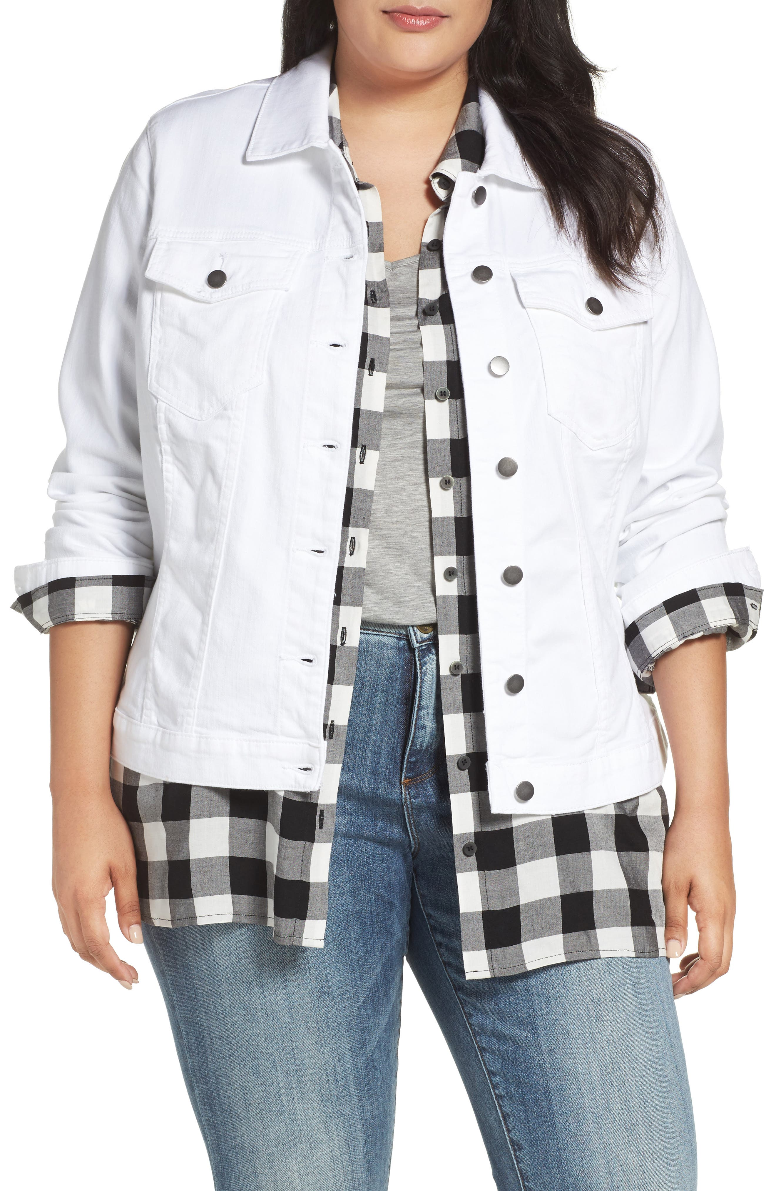 KUT from the Kloth Helena Denim Jacket (Plus Size)