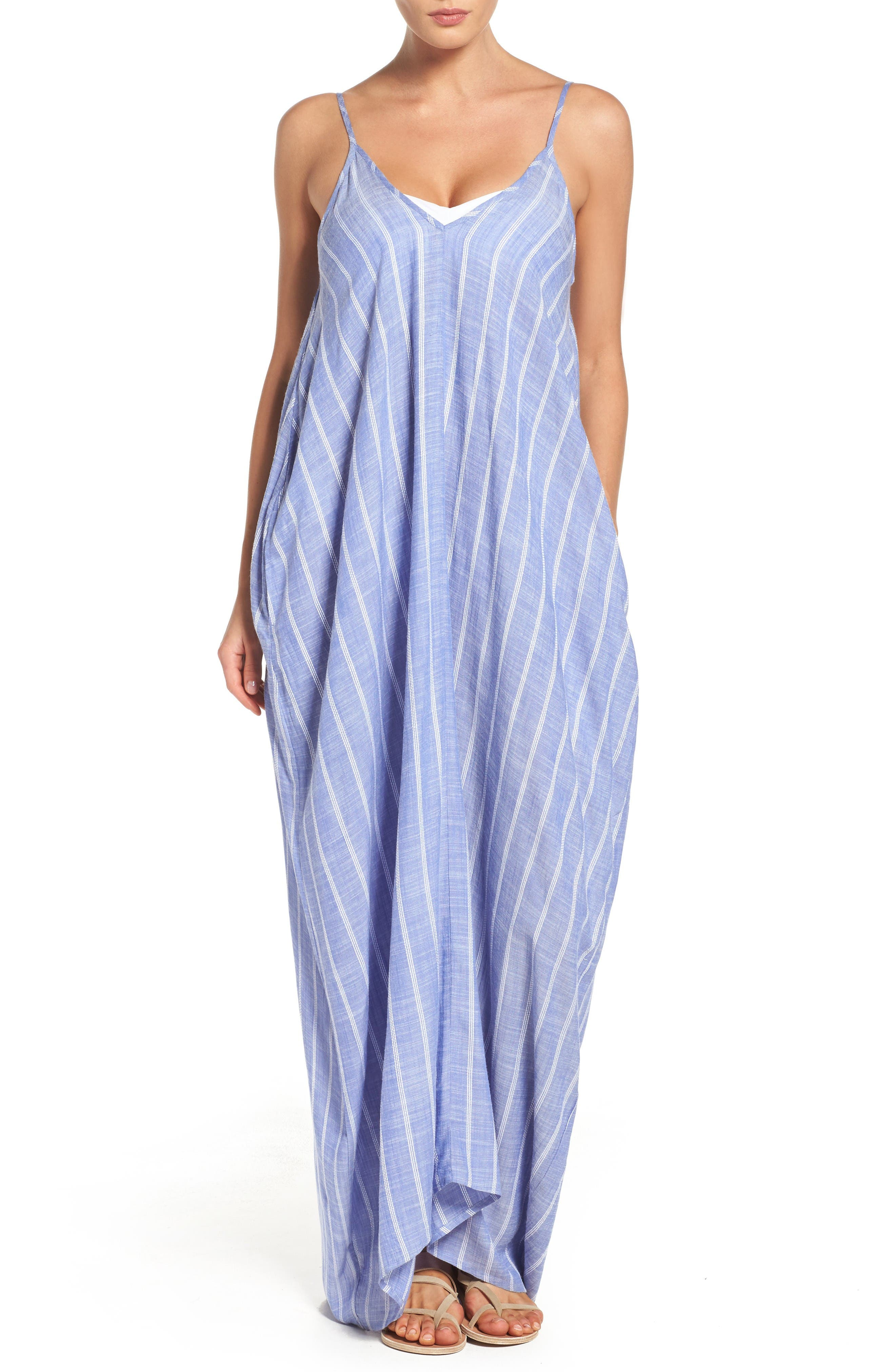 Alternate Image 1 Selected - Elan Cover-Up Maxi Dress