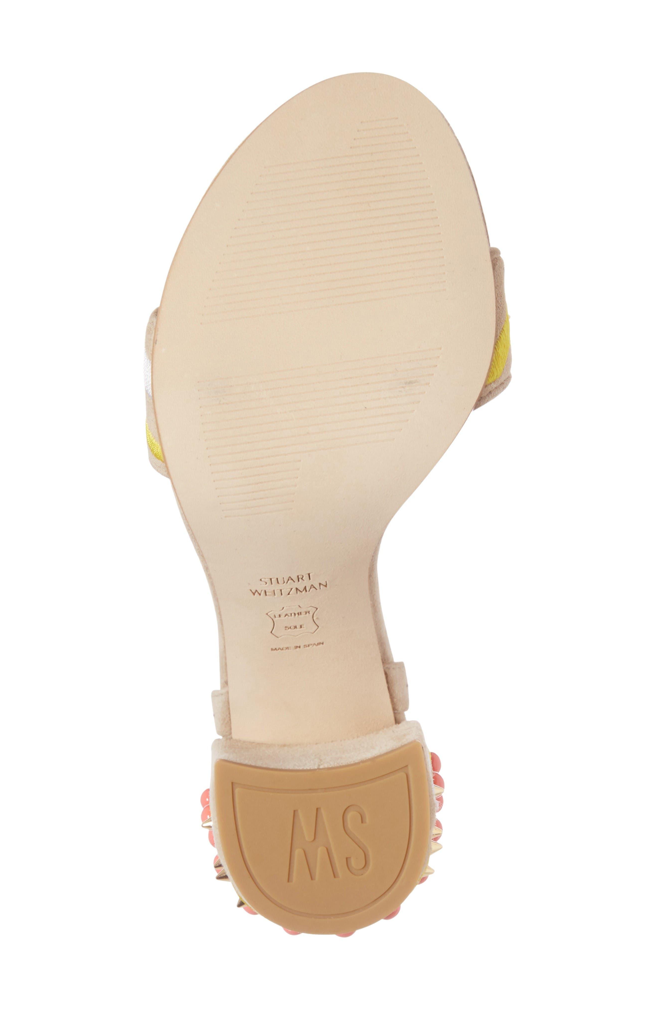 Alternate Image 6  - Stuart Weitzman Both Embellished Sandal (Women)