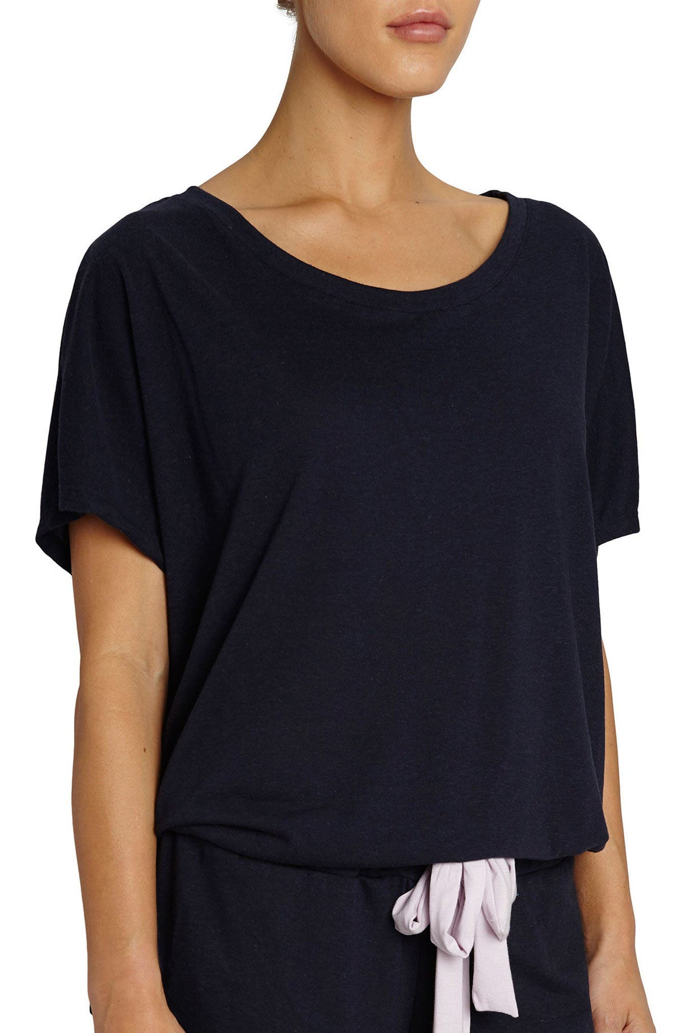 Eberjey Heather Lounge Tee