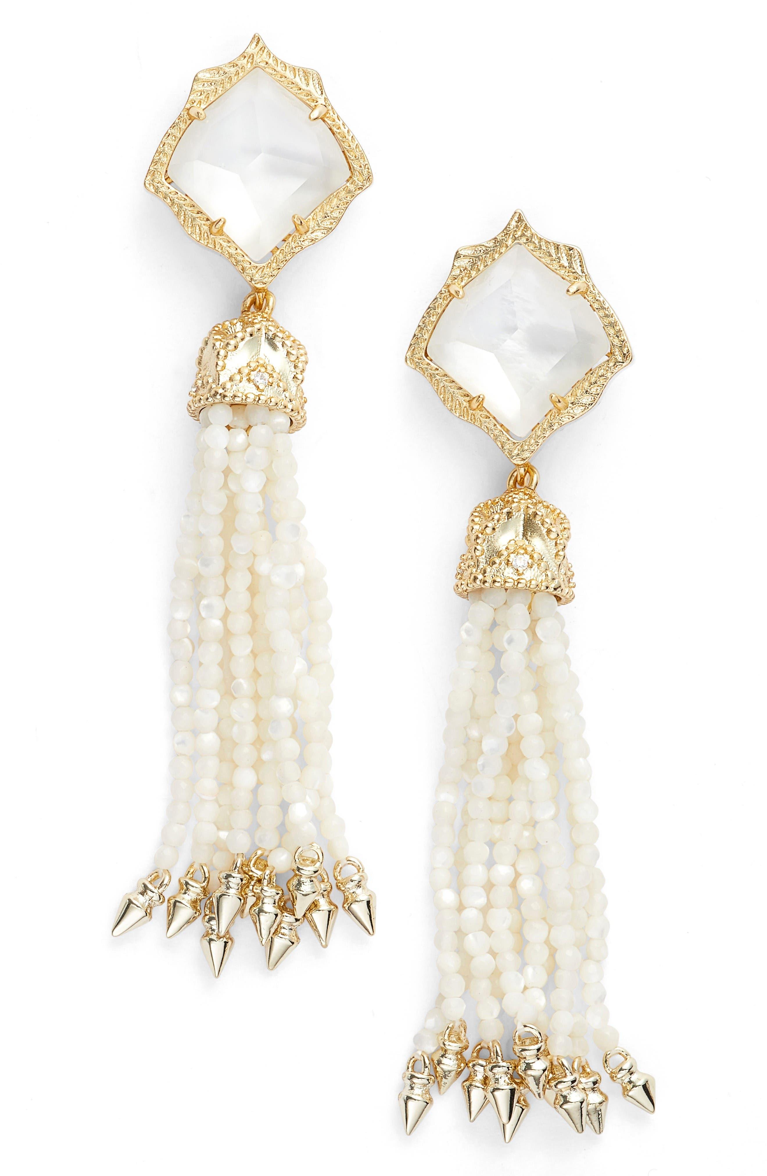 Kendra Scott Misha Tassel Earrings