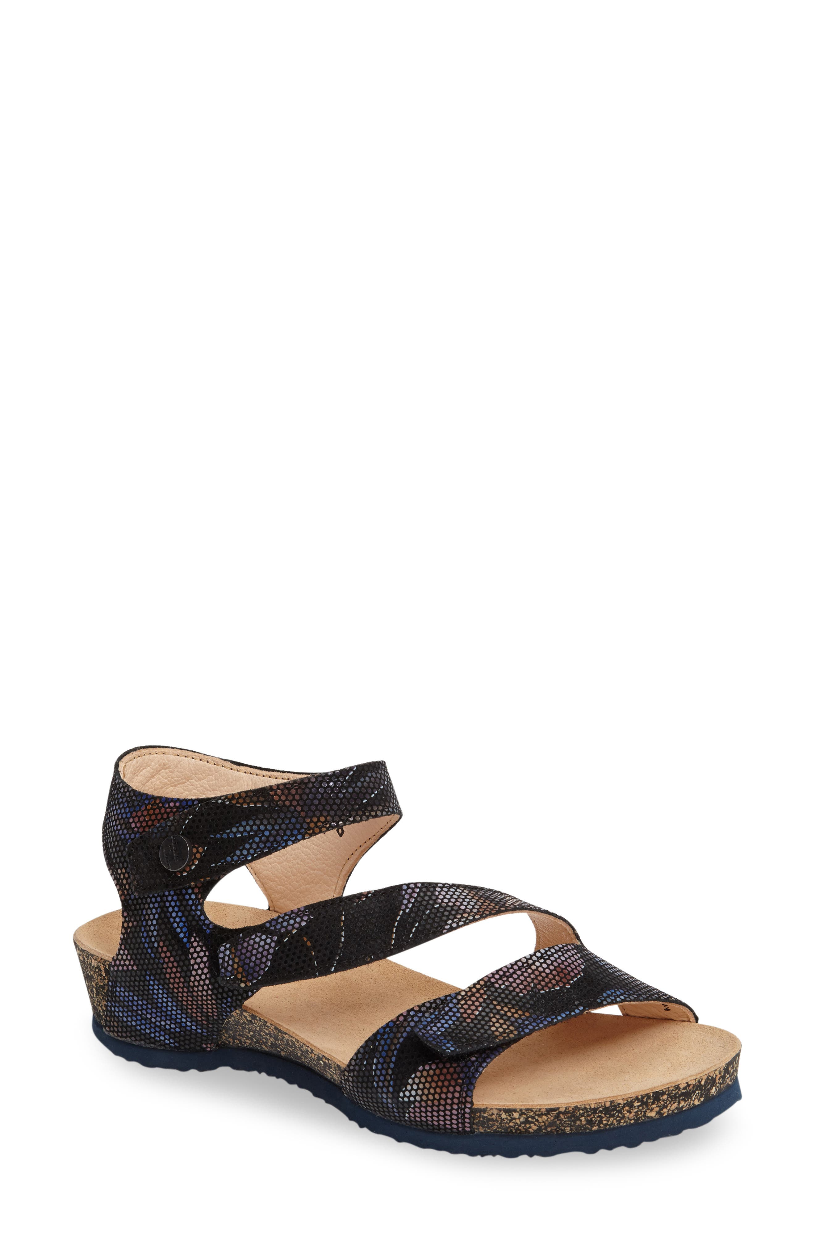 Main Image - Think! 'Dumia' Three Strap Sandal (Online Only)