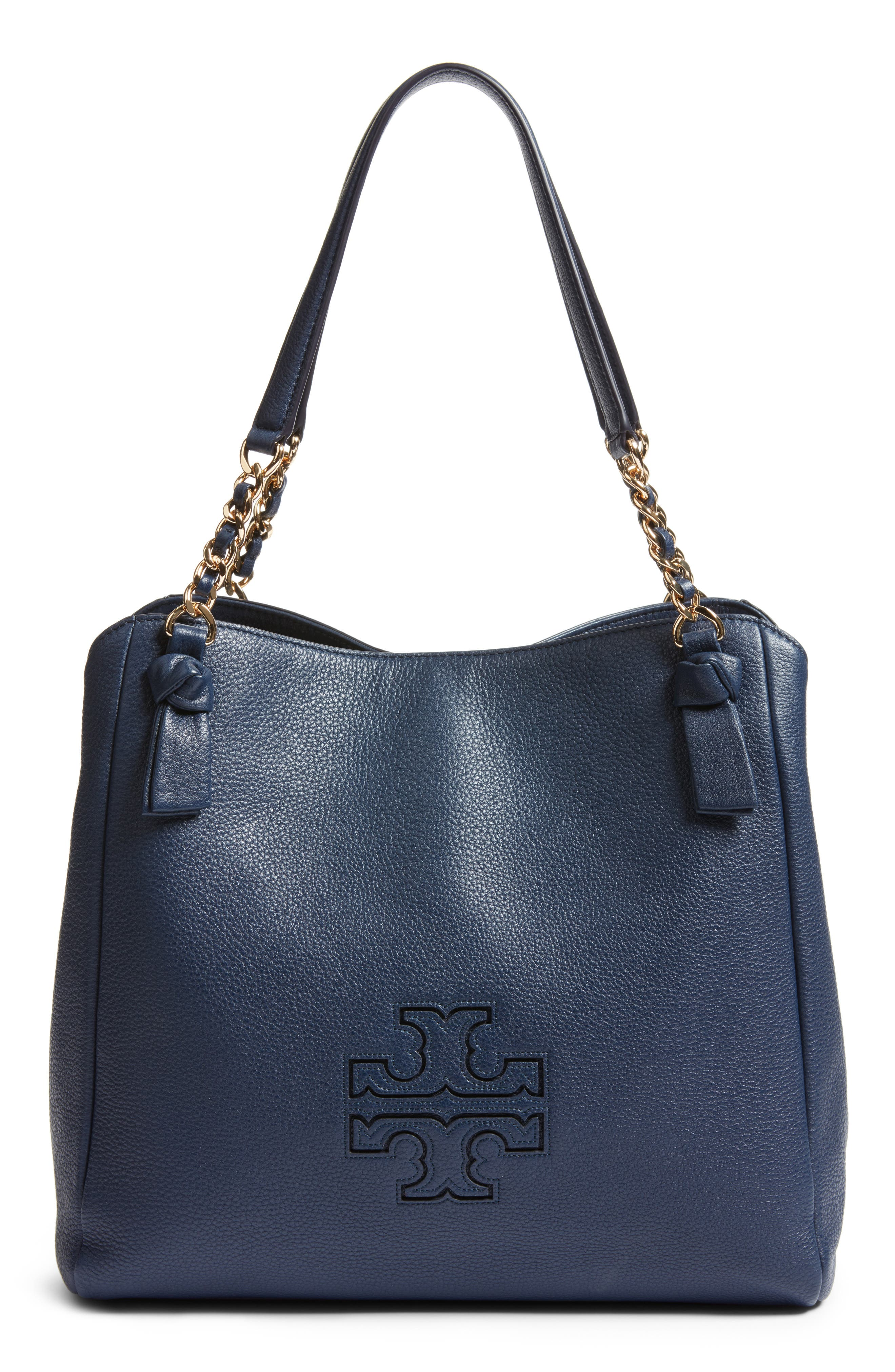 Alternate Image 1 Selected - Tory Burch 'Harper' Leather Tote