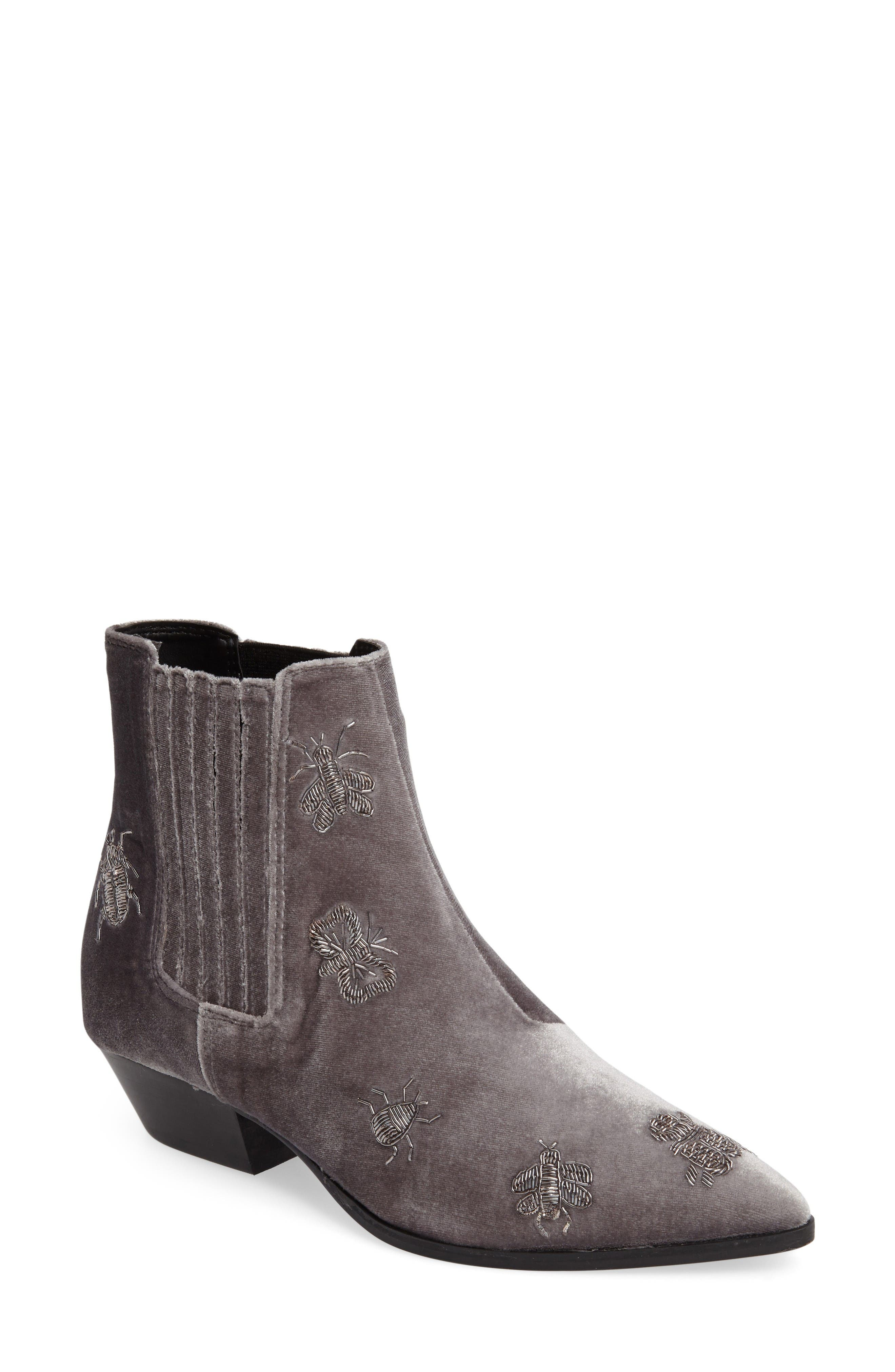 Alternate Image 1 Selected - Topshop Ants Ankle Boot (Women)