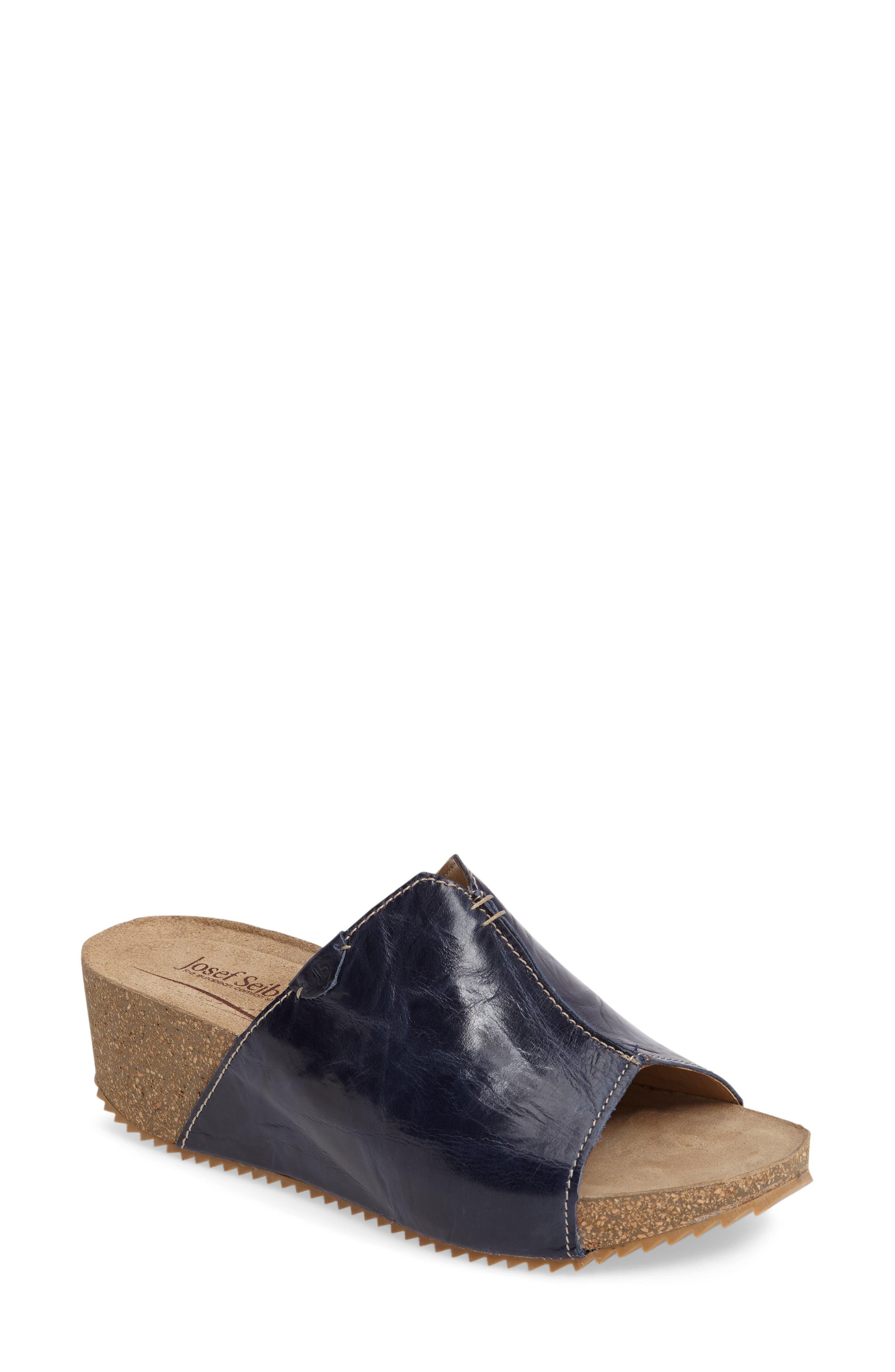 Josef Seibel 'Meike 07' Wedge Slide Sandal (Women)