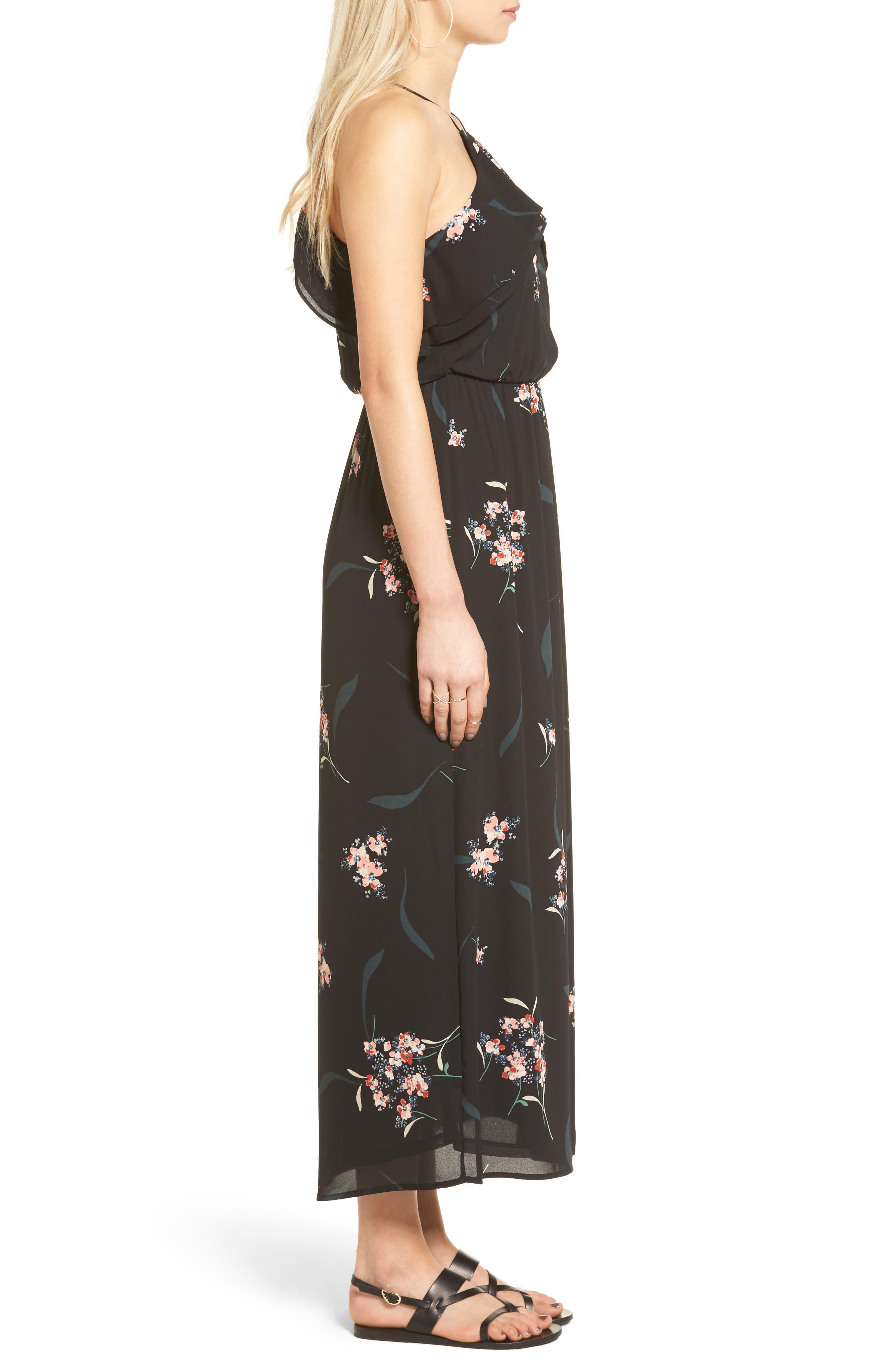 Alternate Image 3  - Lush Ruffle Maxi Dress
