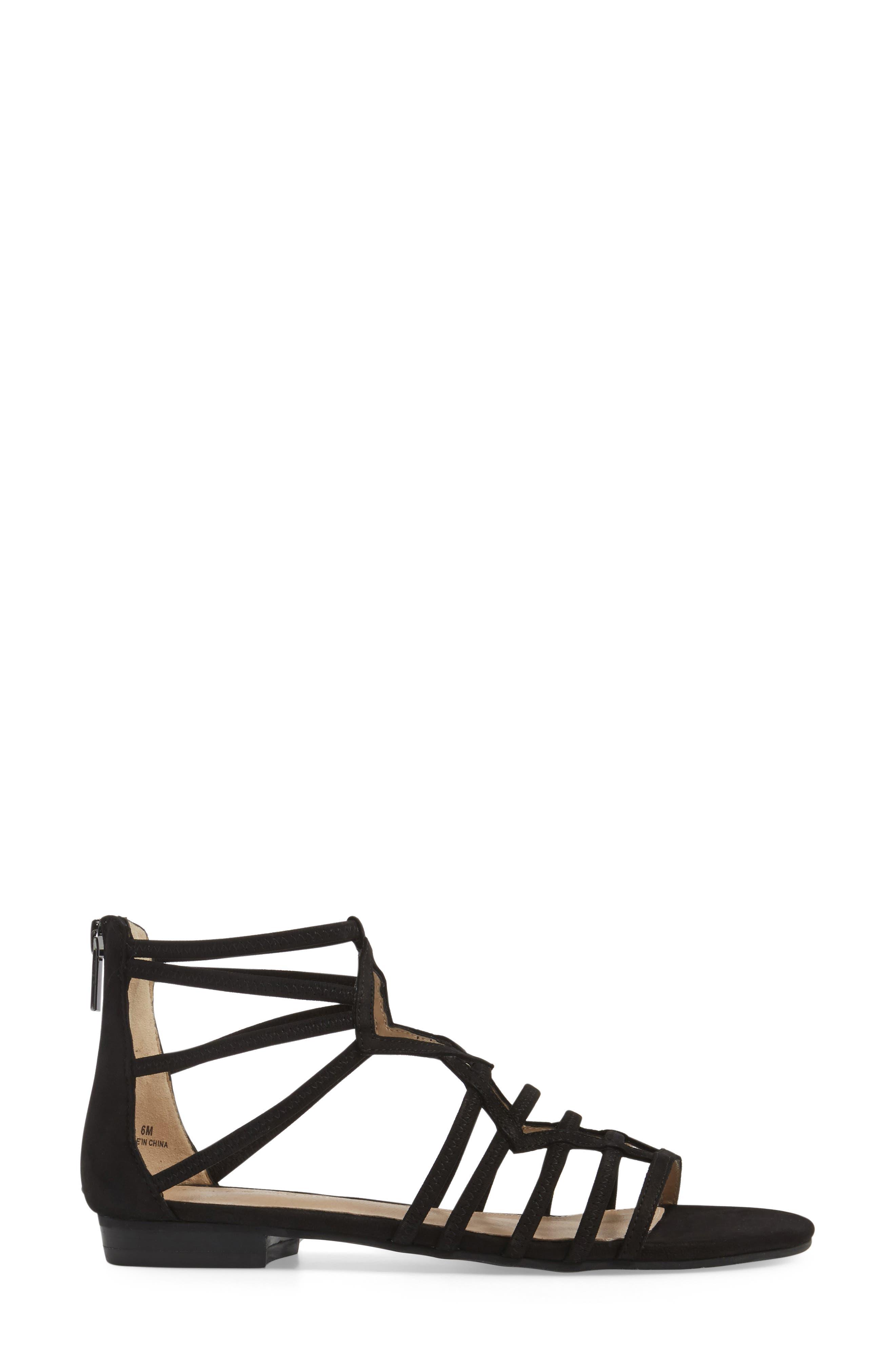 Alternate Image 3  - Pelle Moda Brazil Strappy Sandal (Women)