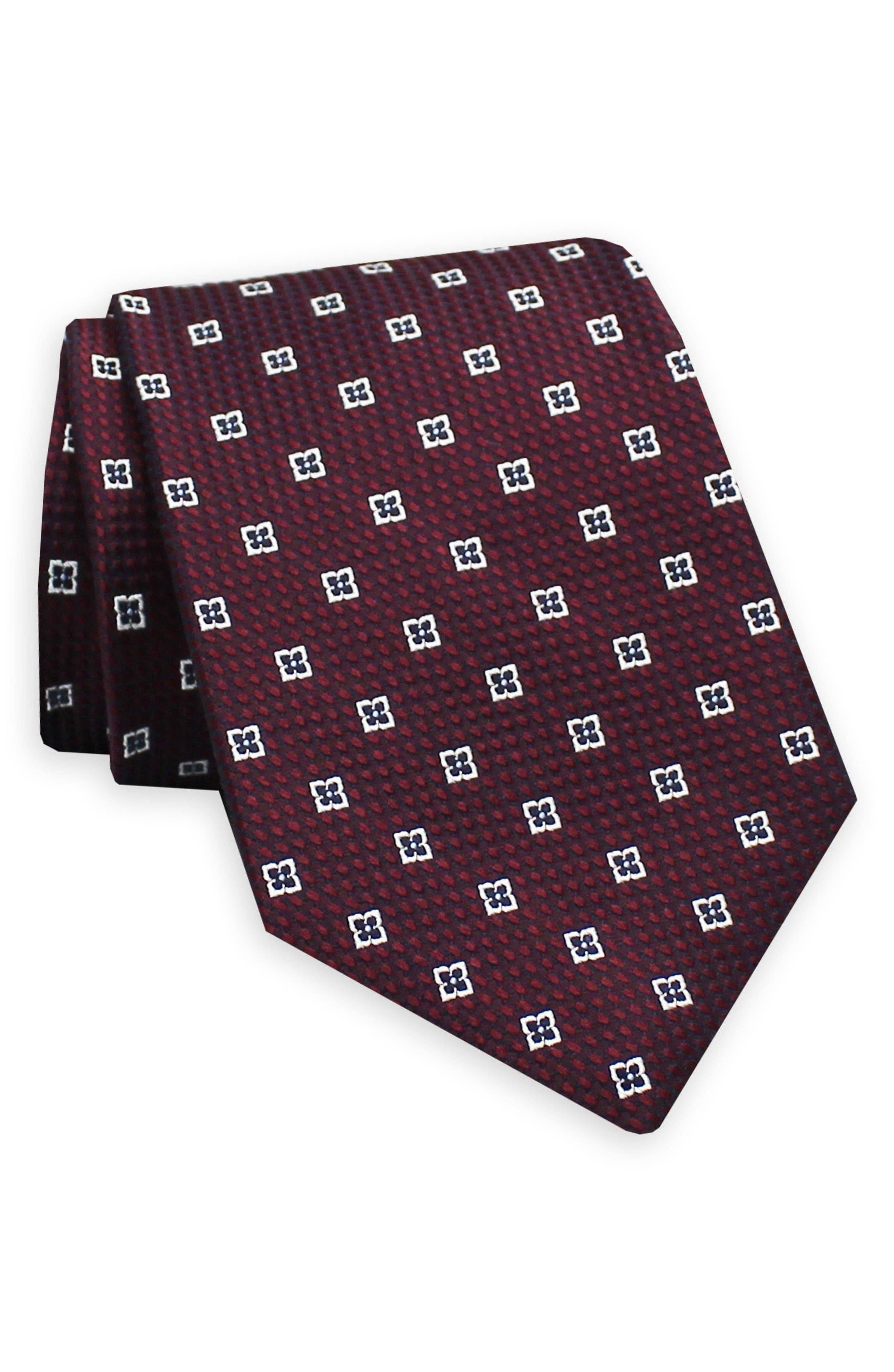 Gitman Geometric Silk Tie