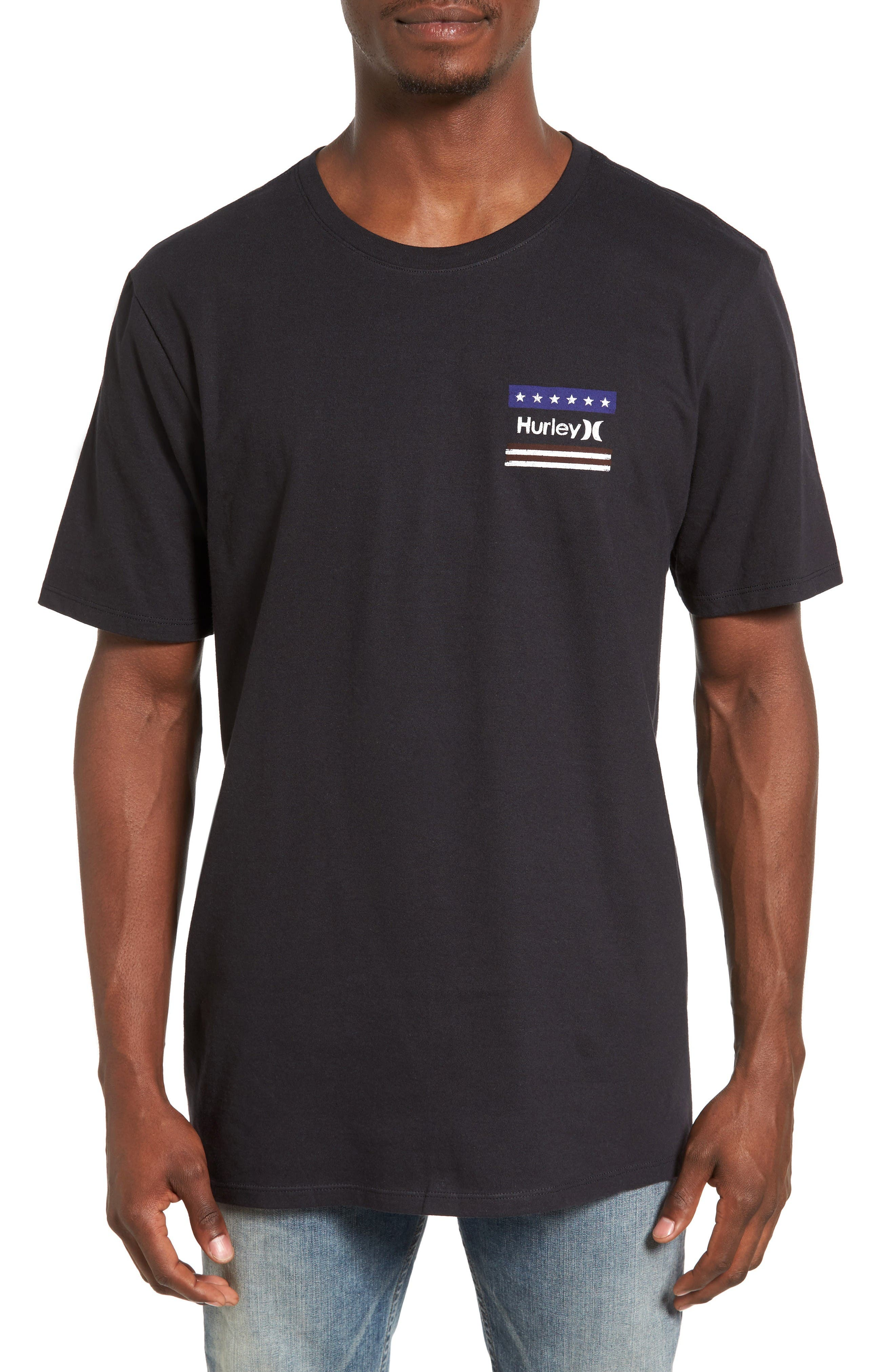 Hurley Freedom Fly Logo Graphic T-Shirt