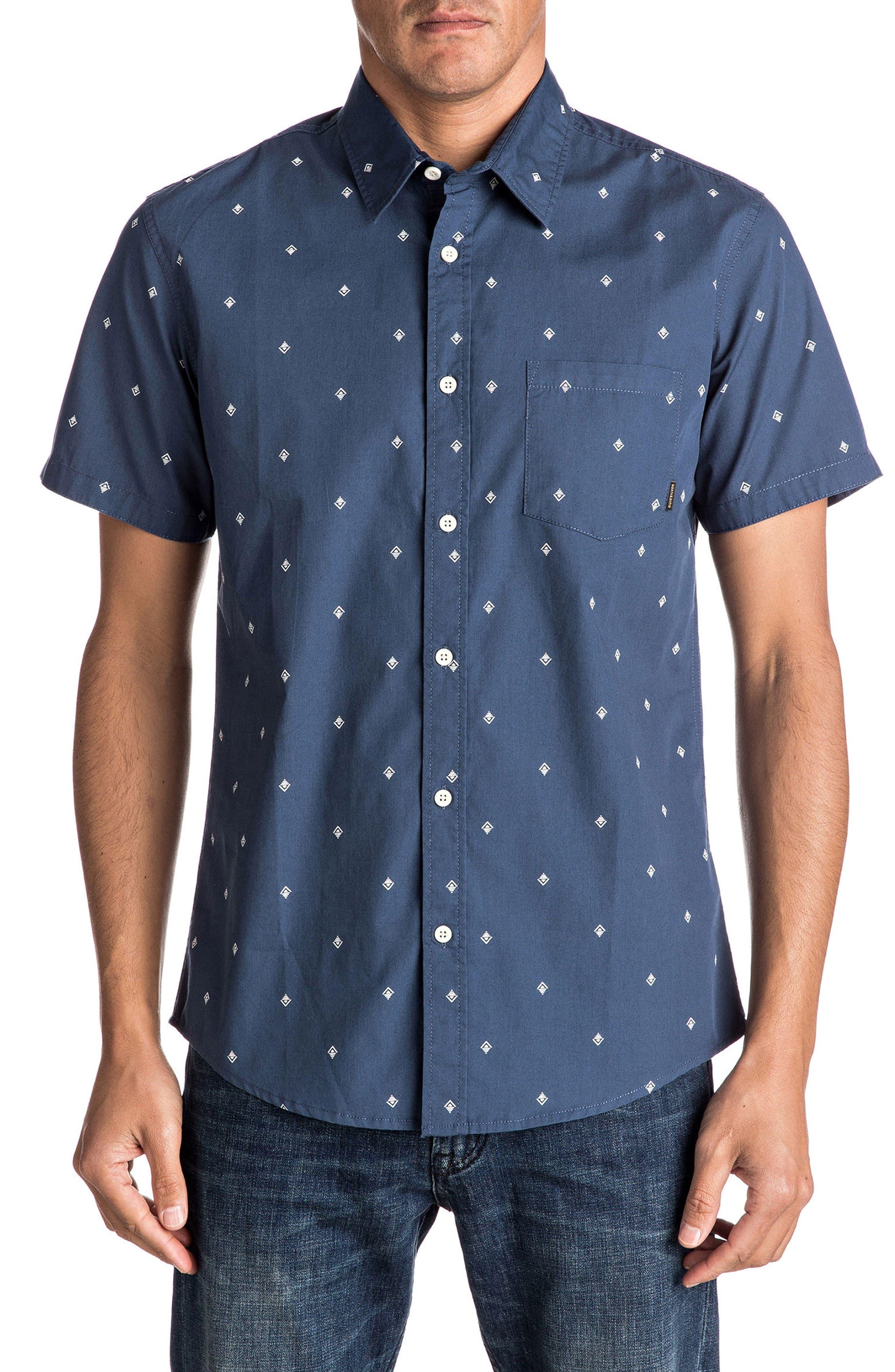Quiksilver Everyday Mini Print Woven Shirt