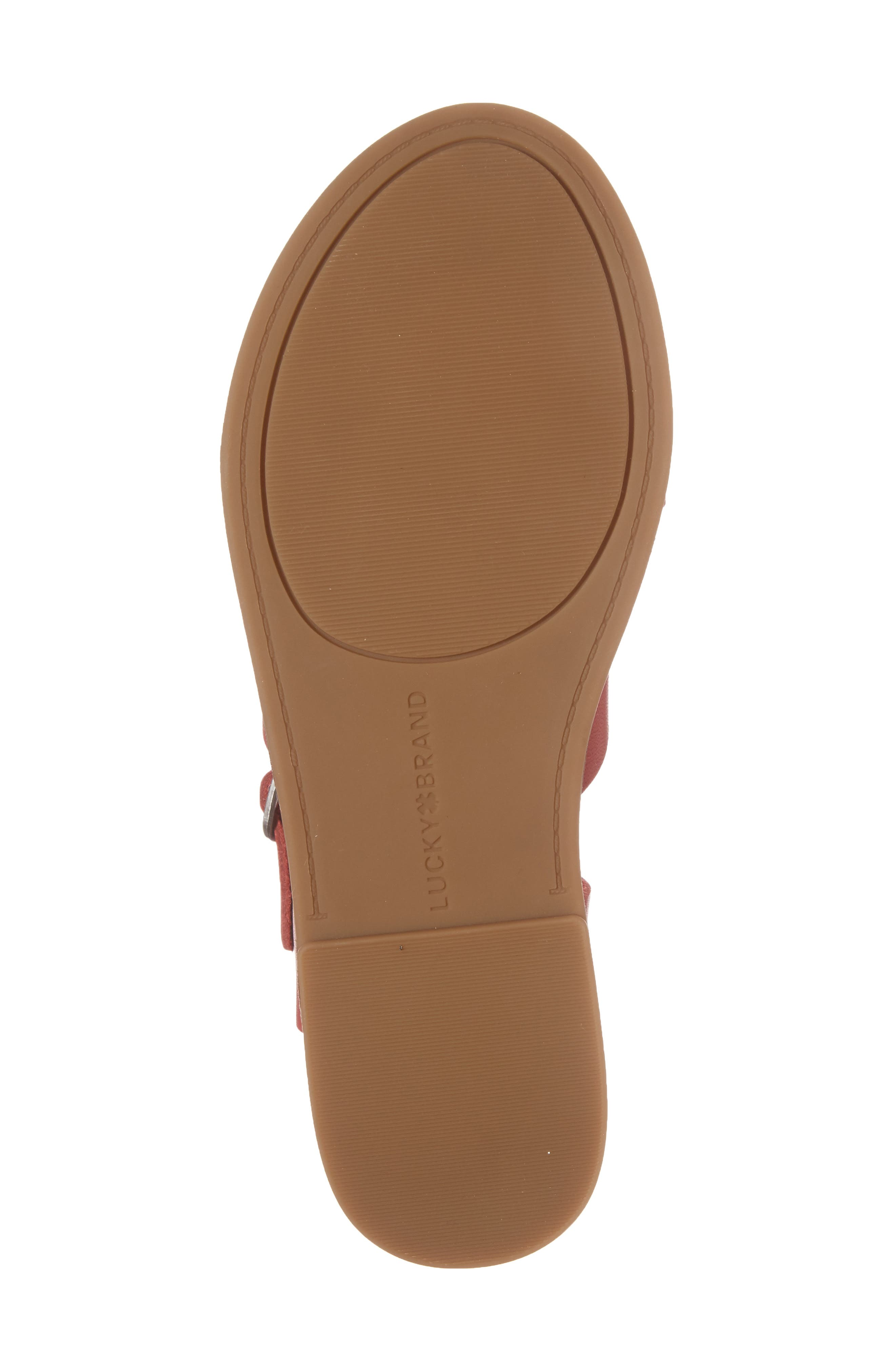 Alternate Image 6  - Lucky Brand Adinis Flat Sandal (Women)