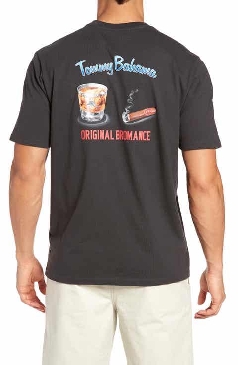 Tommy Bahama Original Bromance Graphic T-Shirt (Big   Tall)